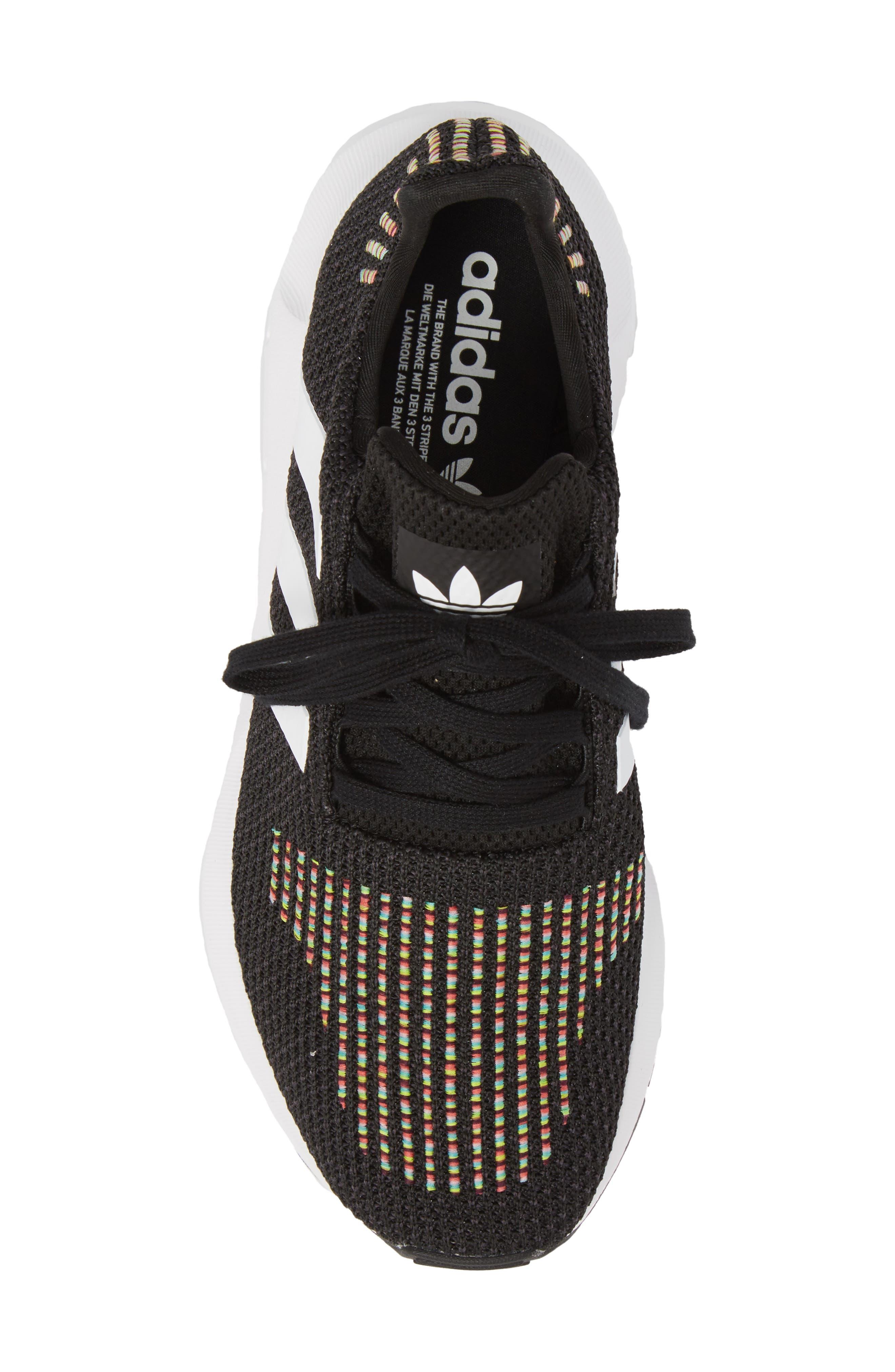 Swift Run Sneaker,                             Alternate thumbnail 5, color,                             Core Black/ White/ Core Black