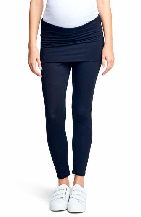 26f776213350f Maternal America Belly Support Maternity Leggings