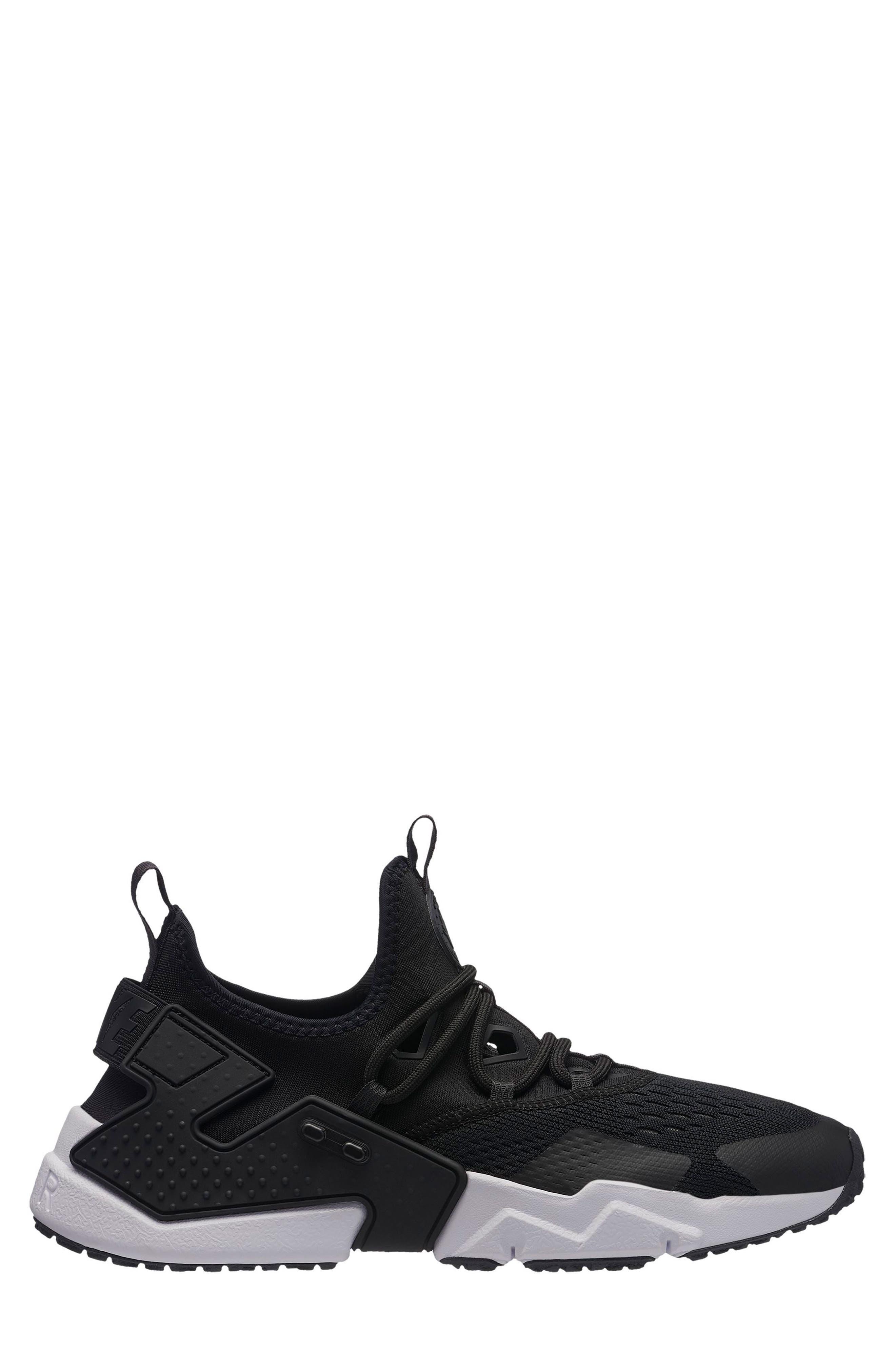Air Huarache Drift BR Sneaker,                         Main,                         color, Black/ Anthracite/ White
