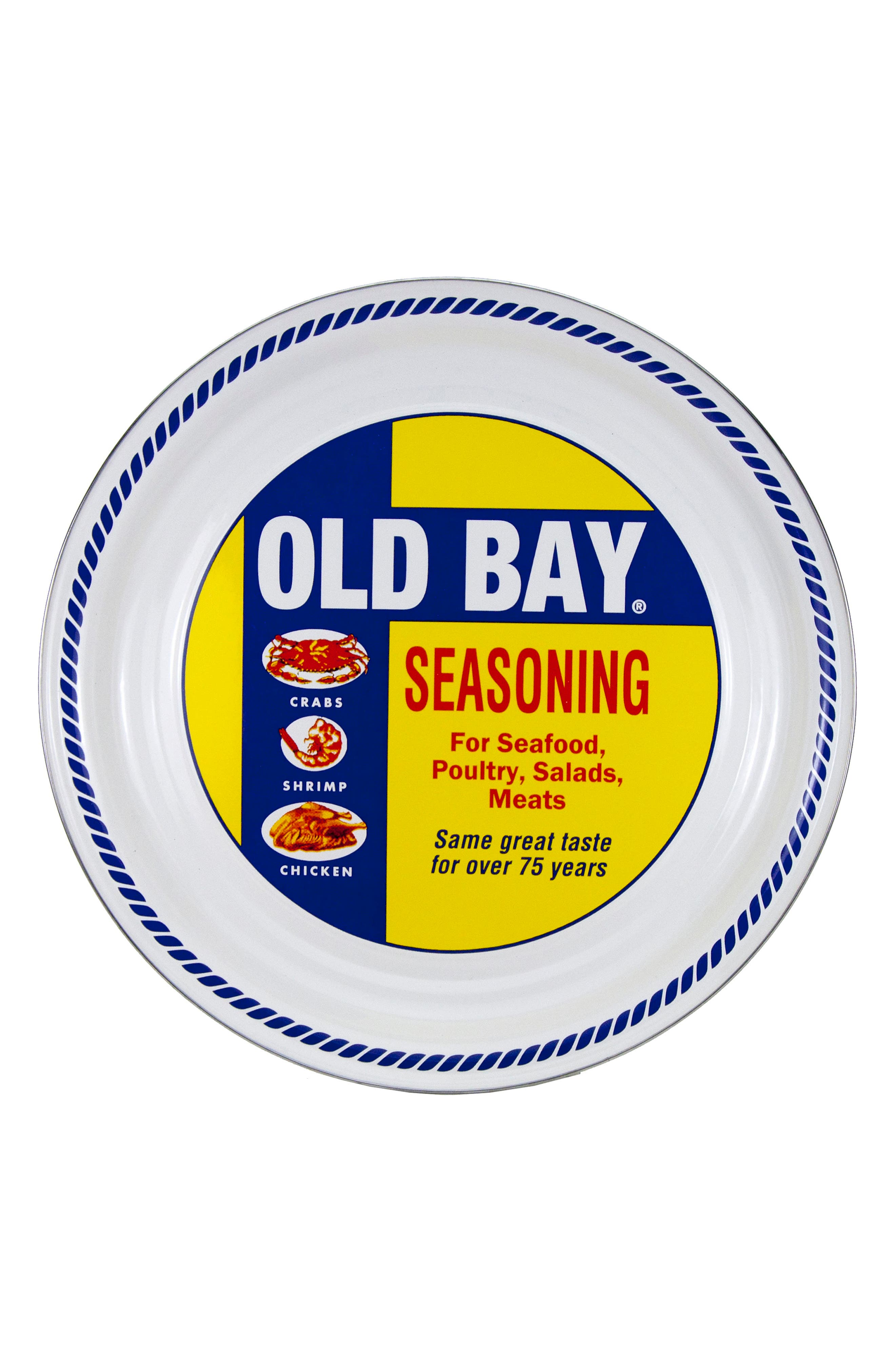 Old Bay Serving Tray,                         Main,                         color, Old Bay