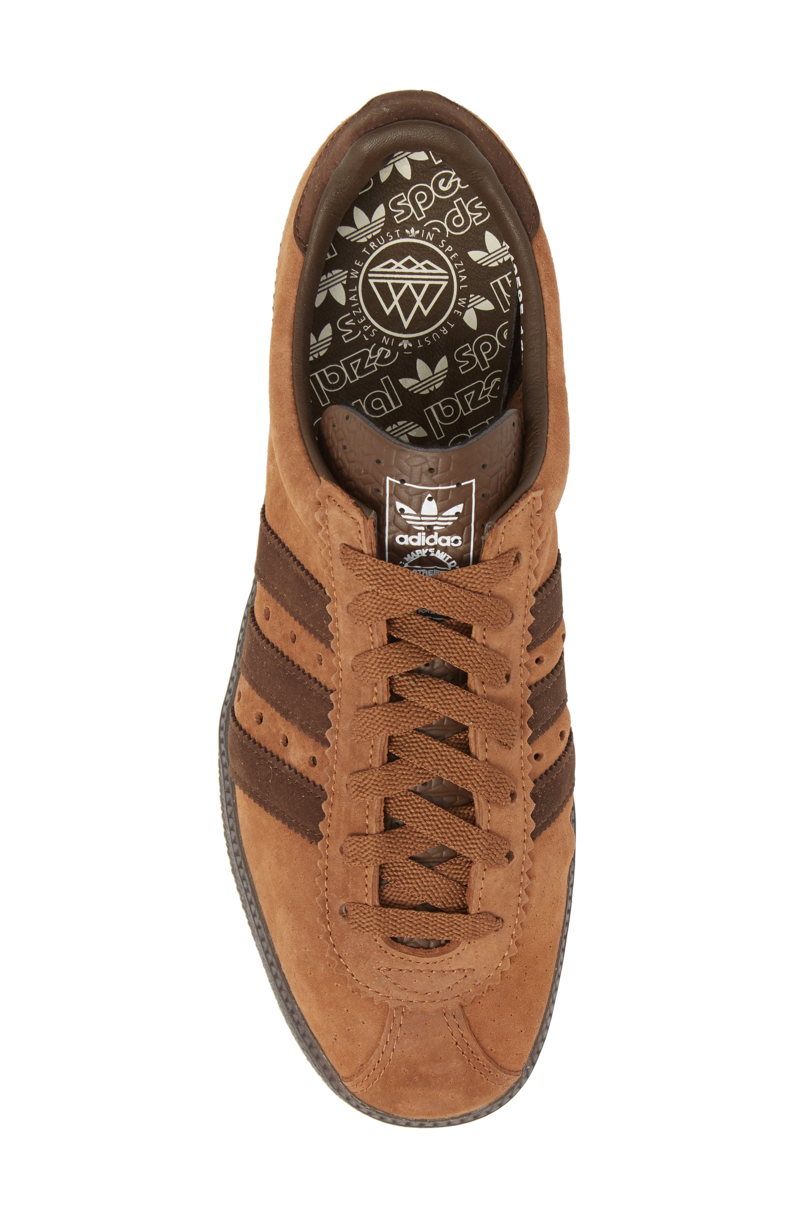 Padiham SPZL Sneaker,                             Alternate thumbnail 5, color,                             Brown
