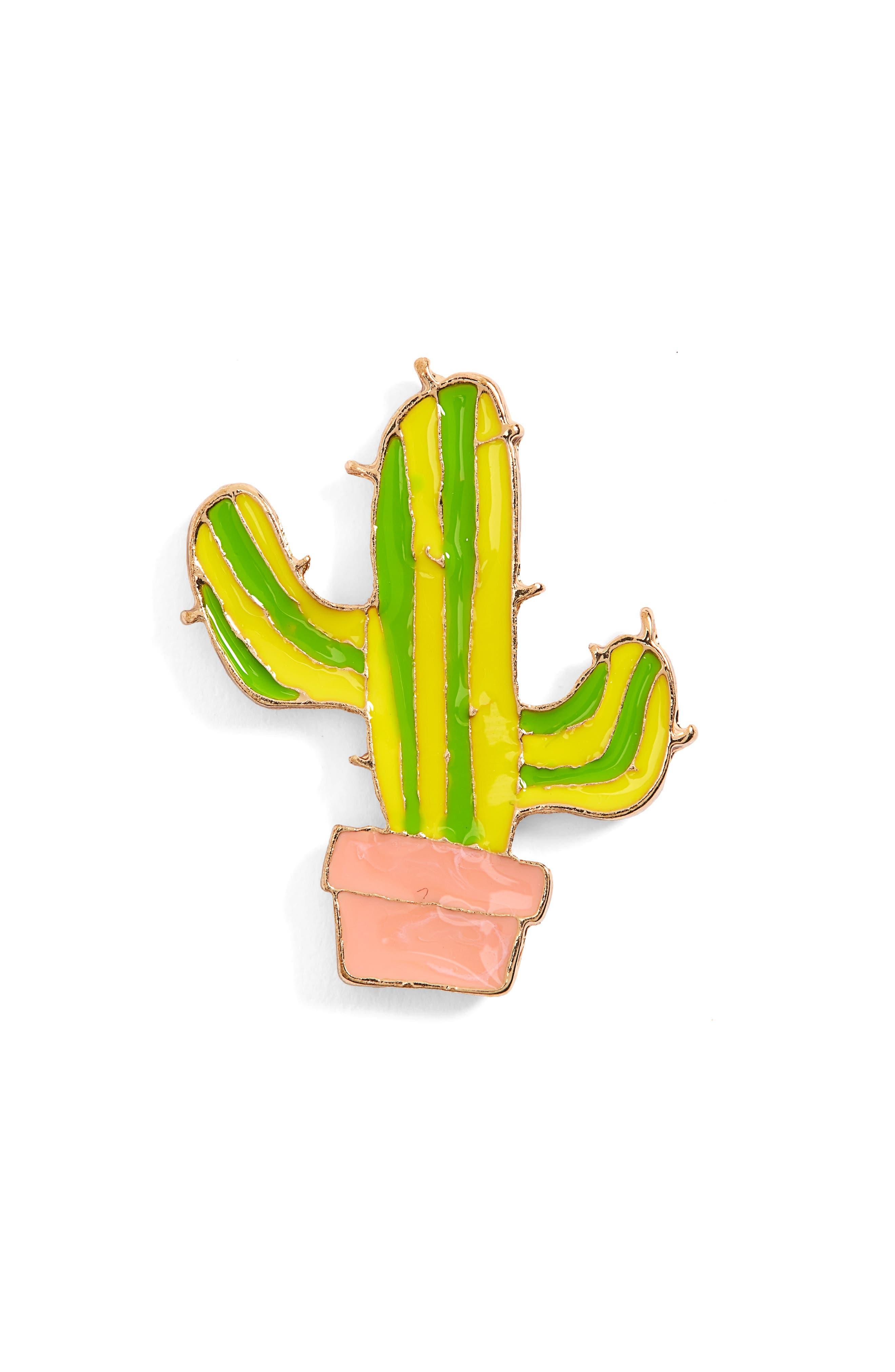 Topshop Cactus Pin