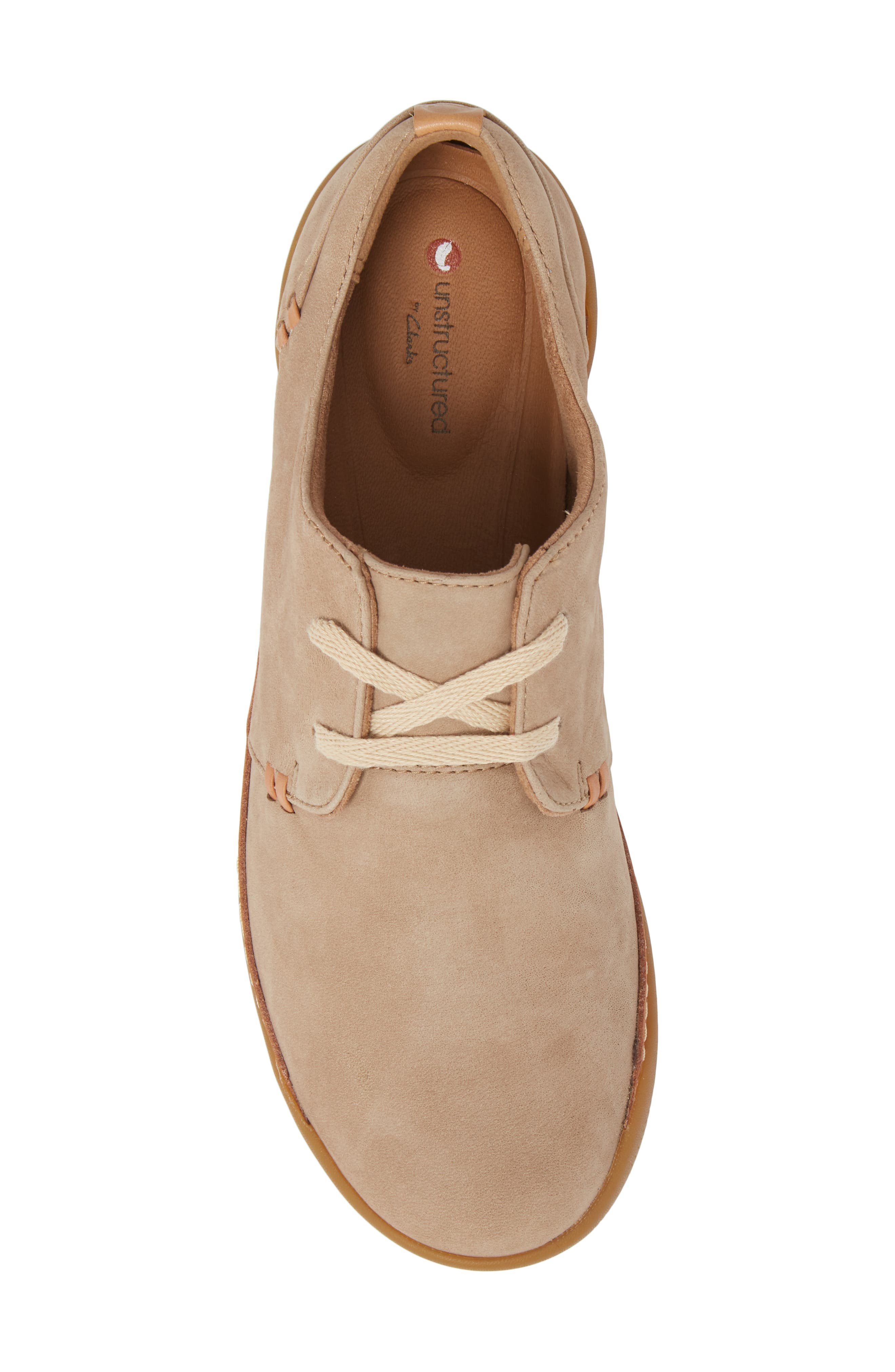 Un Haven Flat,                             Alternate thumbnail 5, color,                             Sand Nubuck