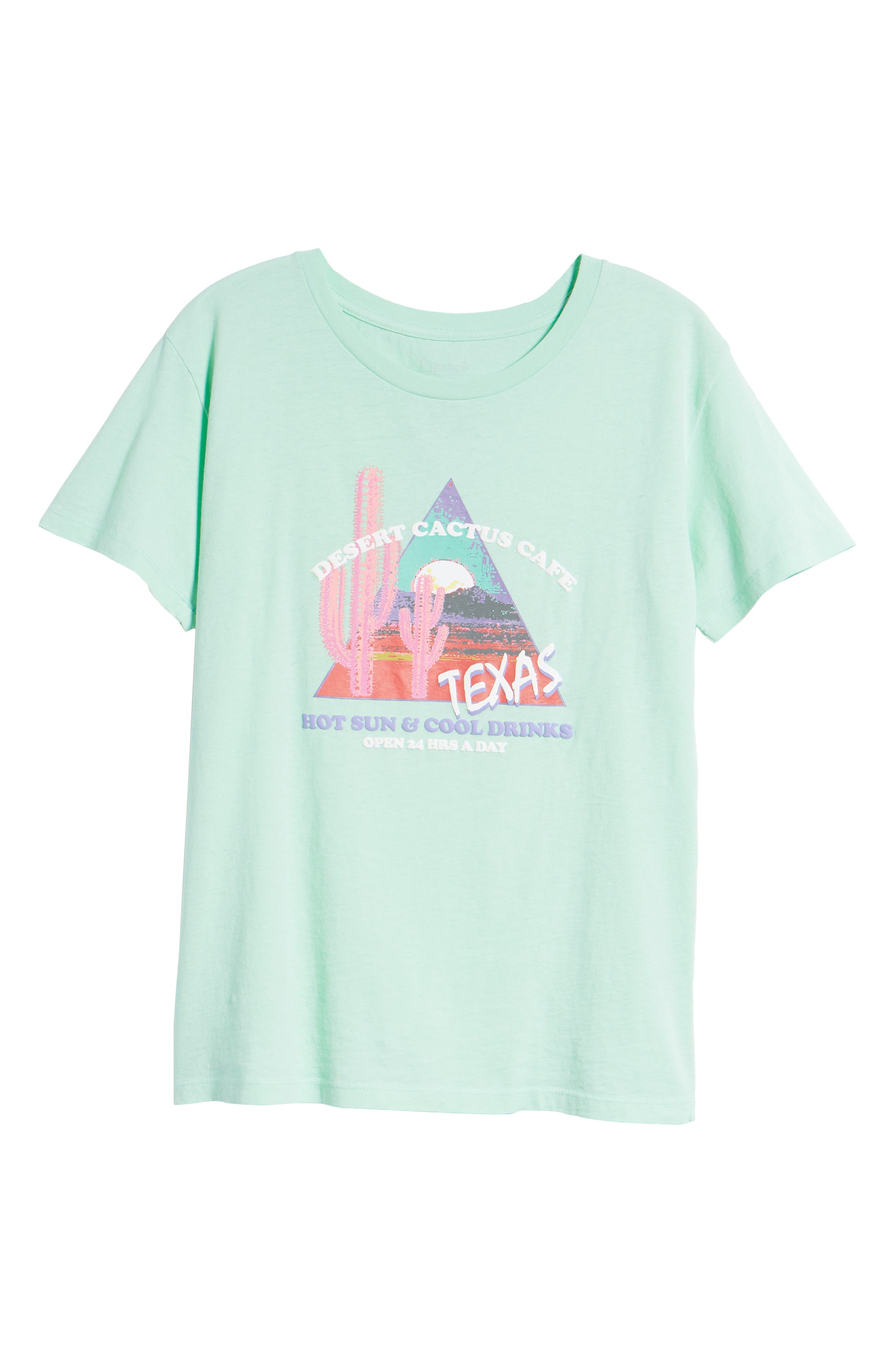 Texas Tee,                             Alternate thumbnail 7, color,                             Washed Mint