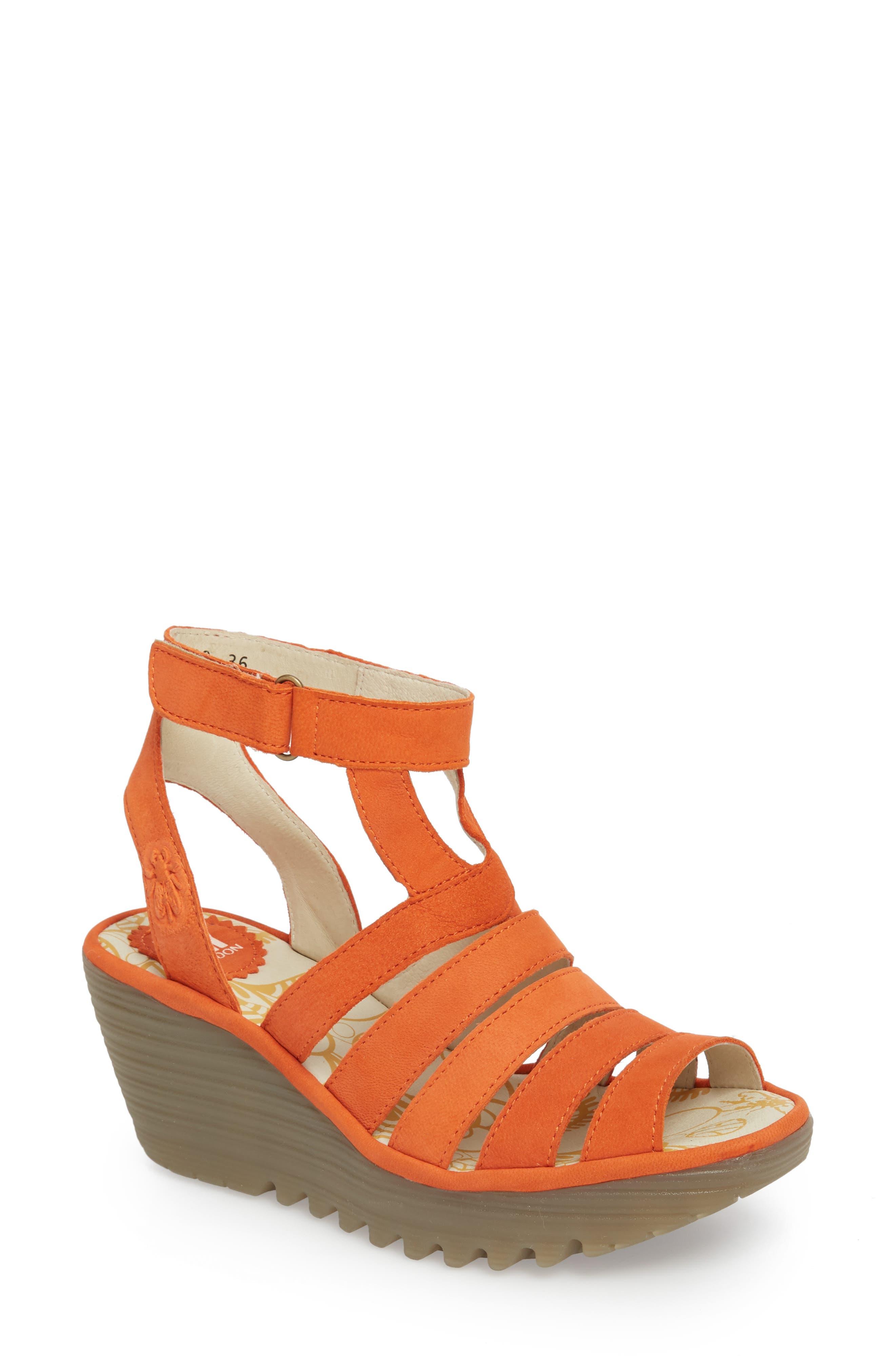 Fly London Yeba Wedge Sandal (Women)