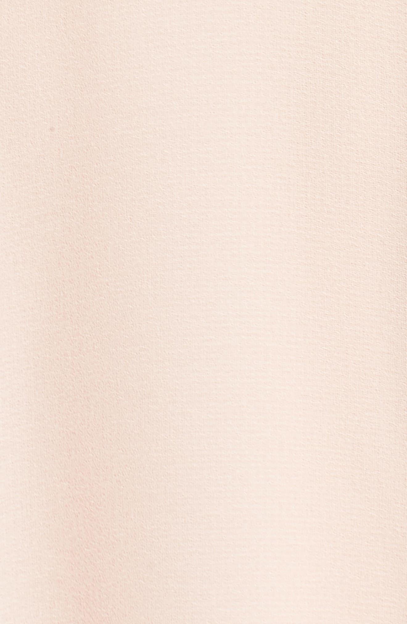 Francie Ruffle V-Neck Gown,                             Alternate thumbnail 5, color,                             Petal