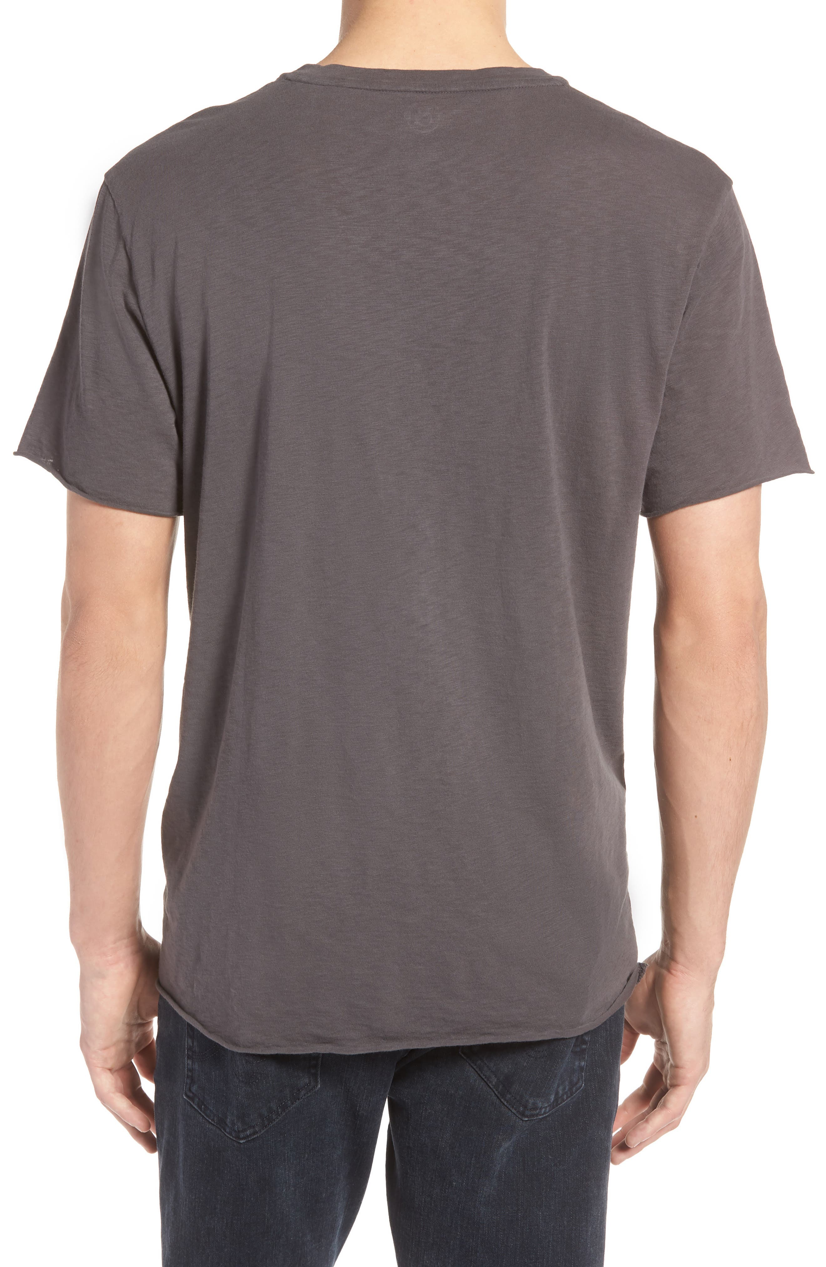 Queen Trim Fit T-Shirt,                             Alternate thumbnail 2, color,                             Grey Queen