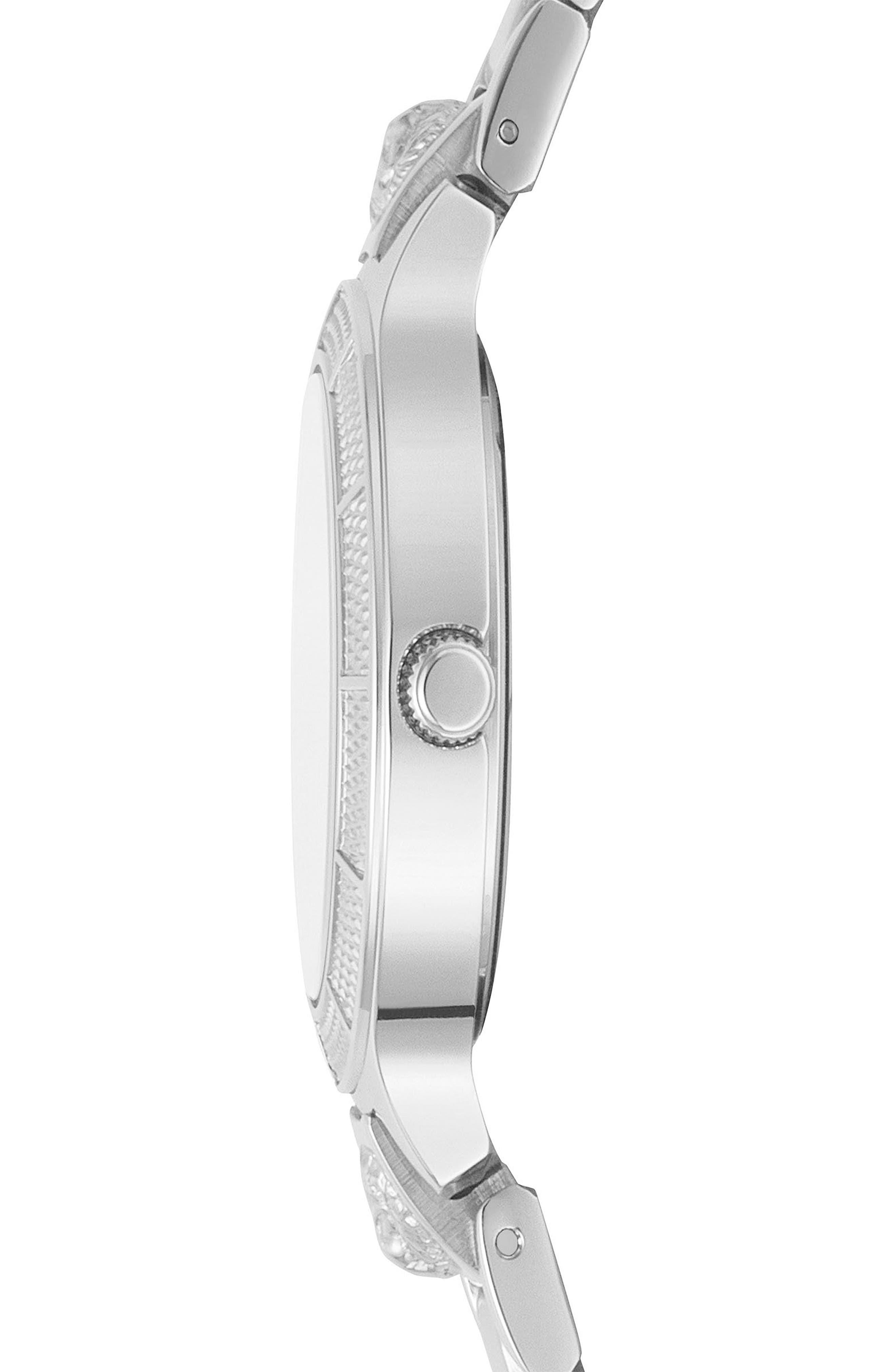 VERSUS by Versace Claremont Bracelet Watch, 32mm,                             Alternate thumbnail 2, color,                             Silver