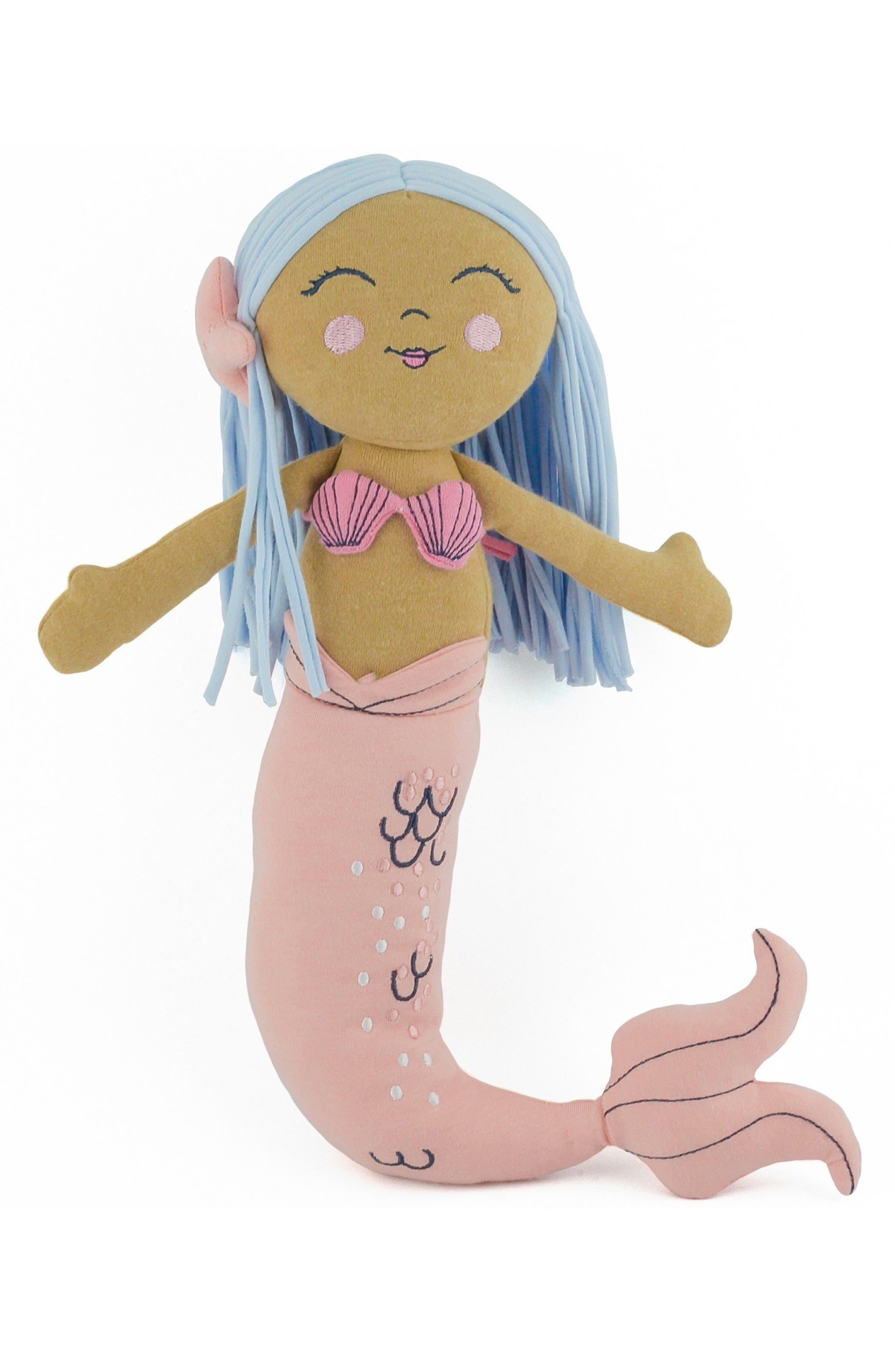 ELLY LU ORGANICS Leialoha Mermaid Stuffed Doll