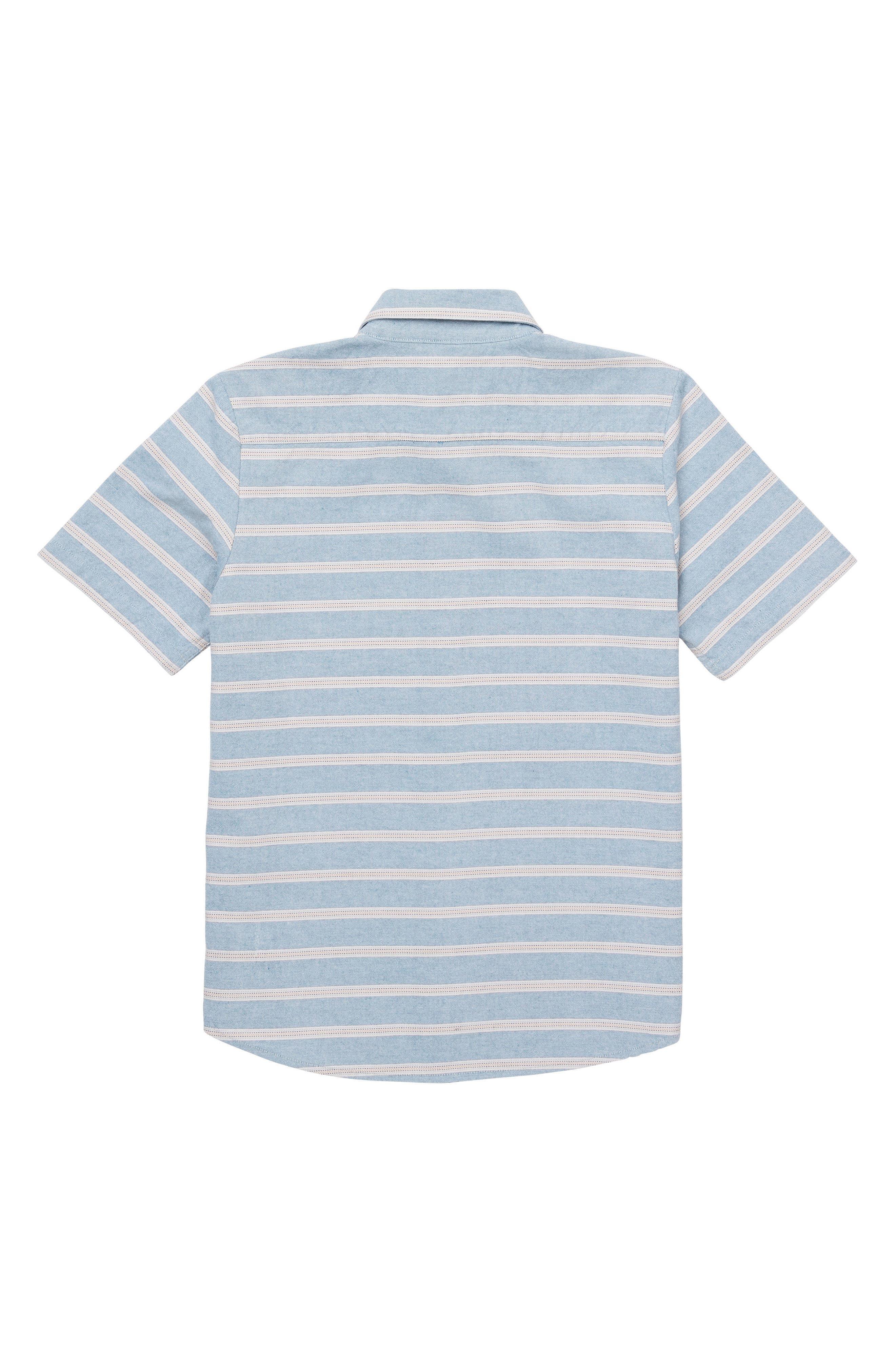 Branson Woven Shirt,                             Alternate thumbnail 2, color,                             Vintage Blue