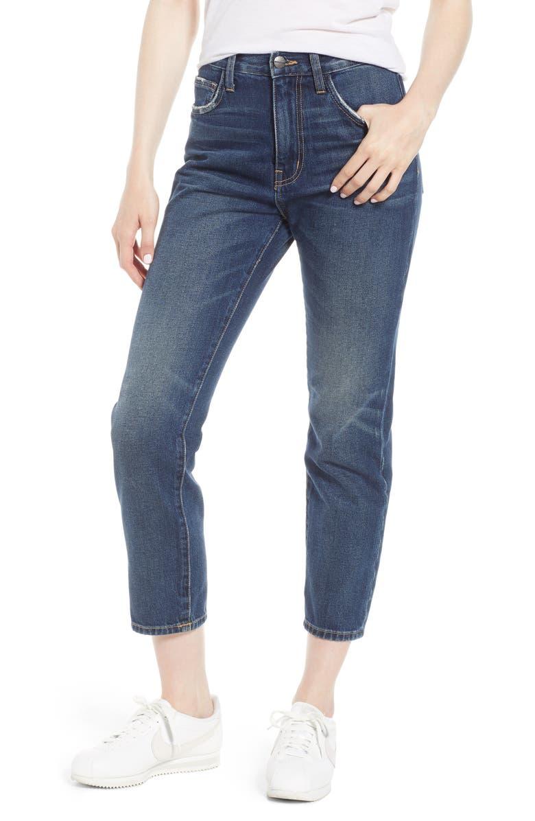 The Vintage High Waist Crop Slim Jeans