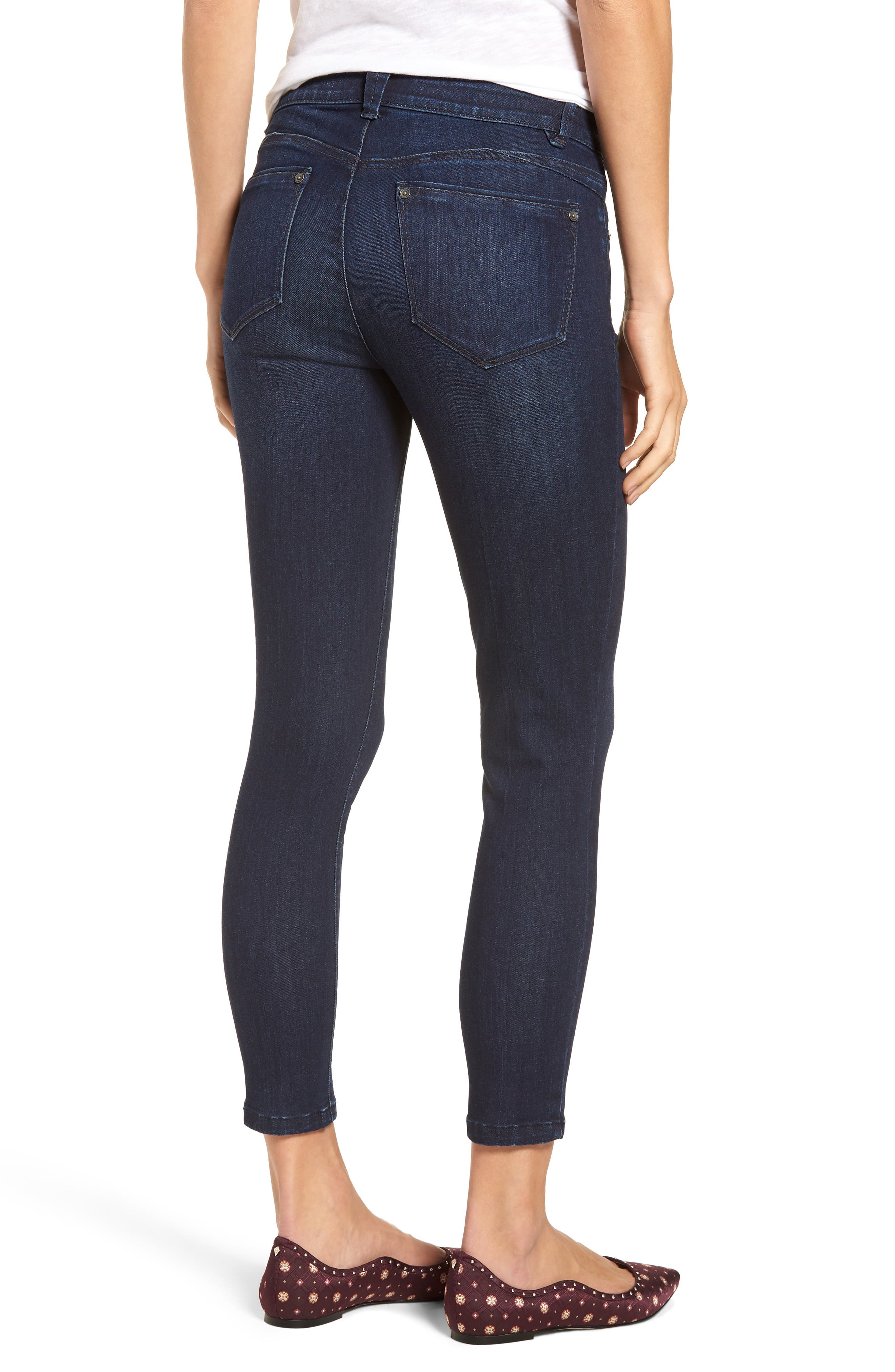 Ab-solution Skinny Jeans,                             Alternate thumbnail 2, color,                             In- Indigo