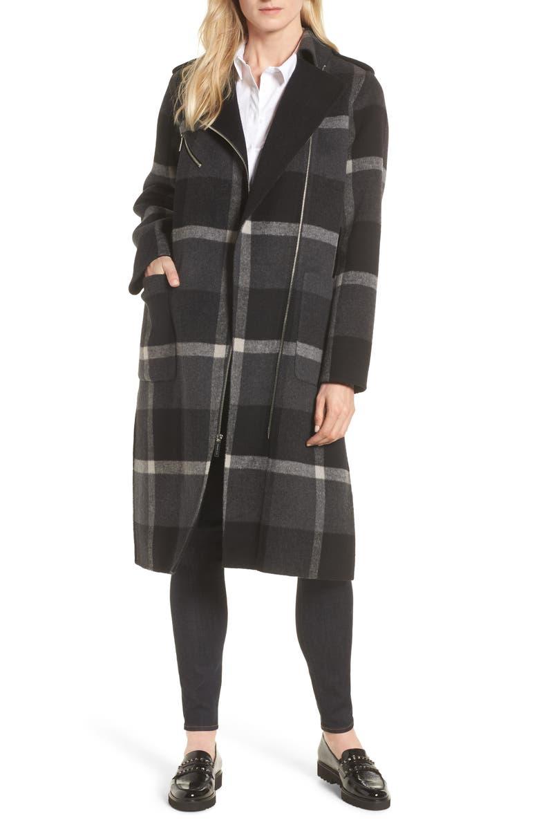 Double Face Wool Blend Oversize Coat