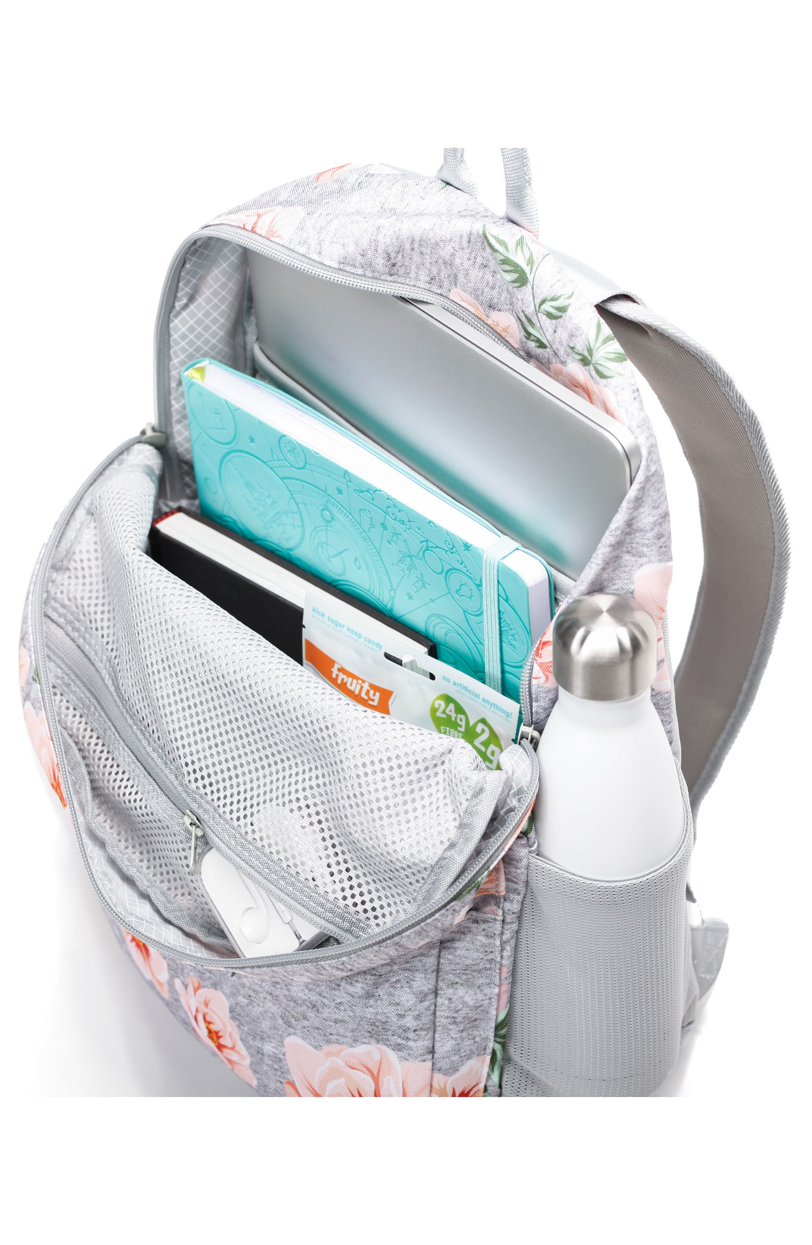 Ace Backpack,                             Alternate thumbnail 4, color,                             Rose Gray