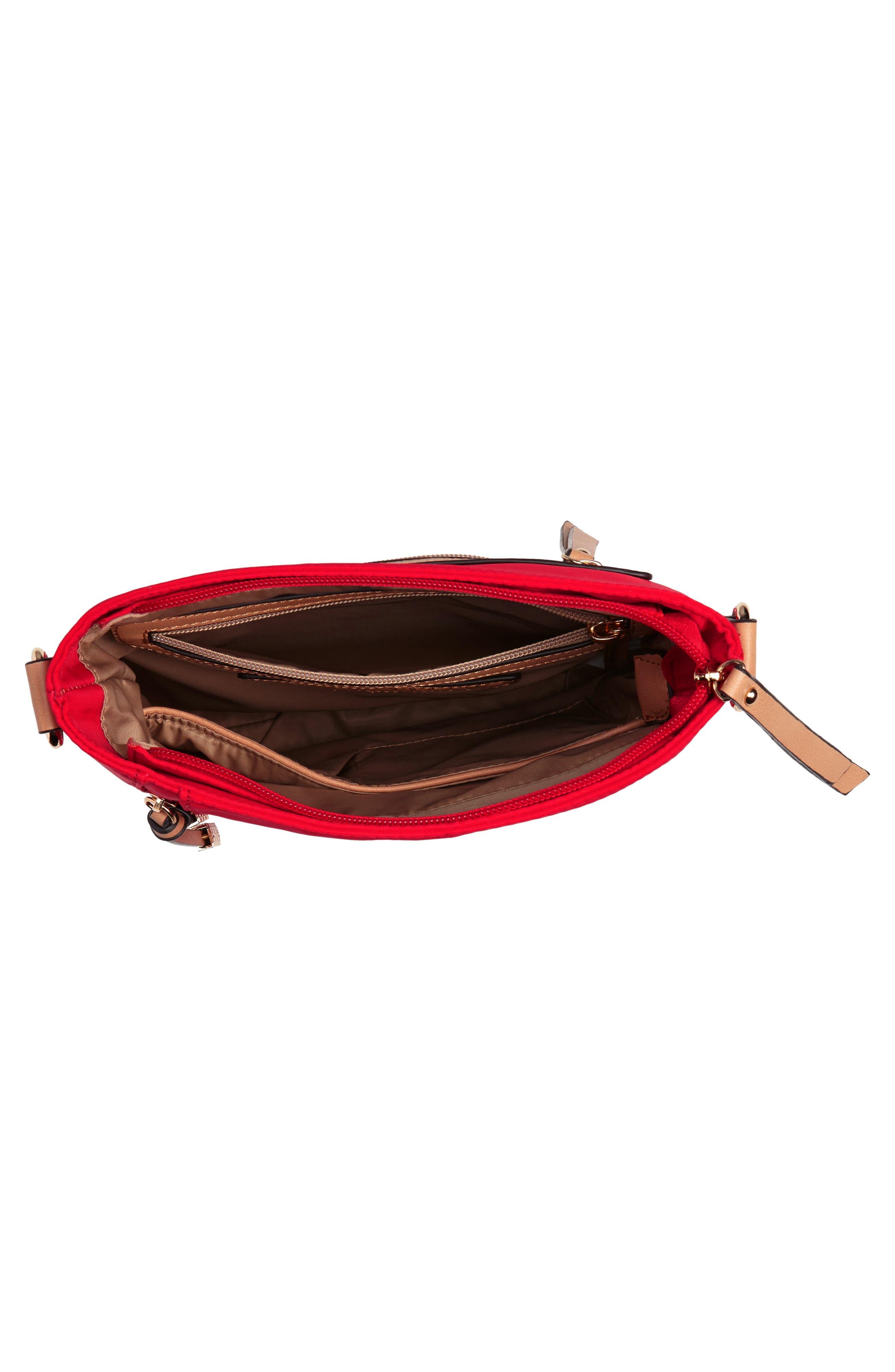 Guitar Strap Crossbody Bag,                             Alternate thumbnail 4, color,                             Red