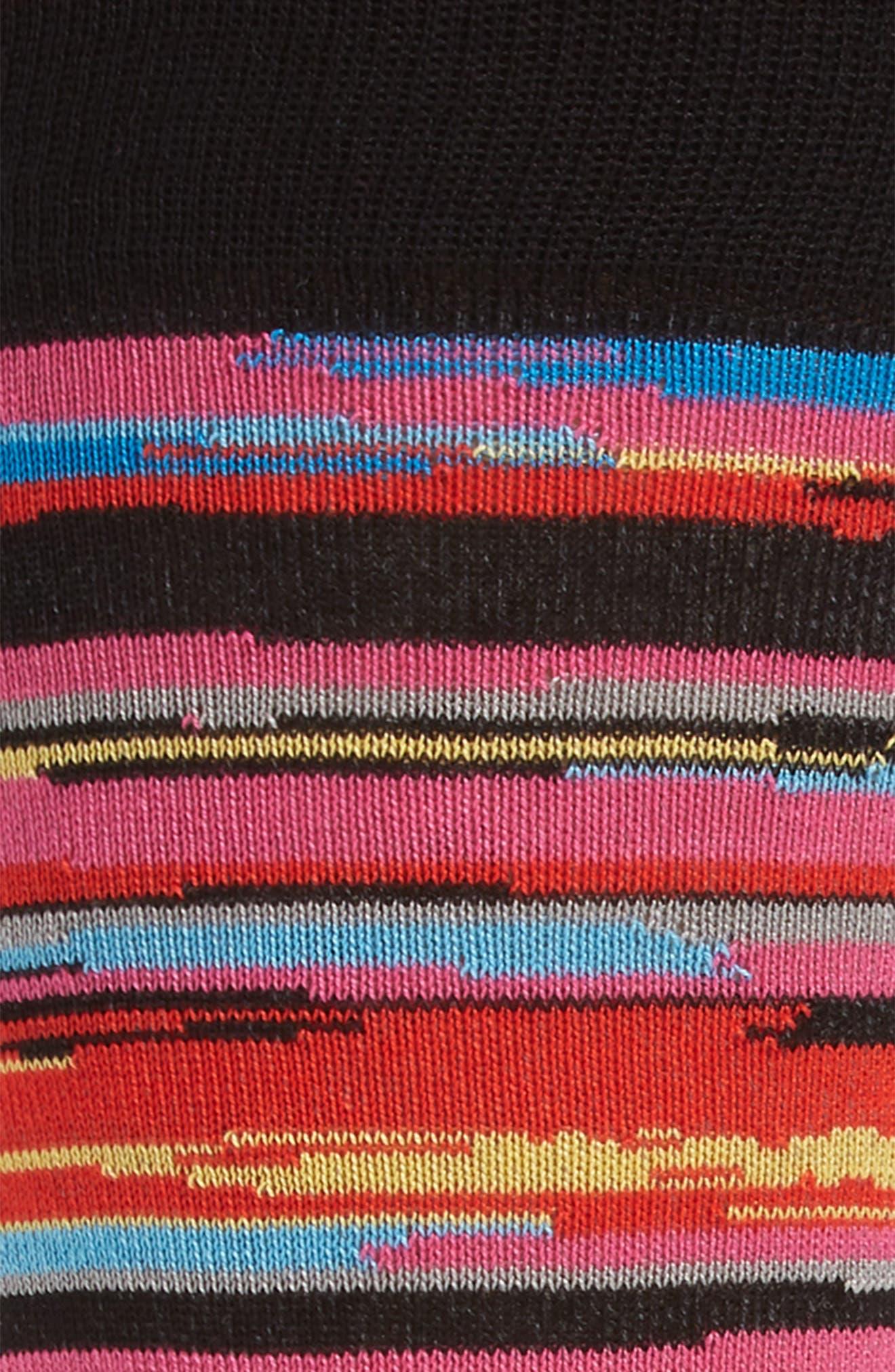 Cotton Blend Socks,                             Alternate thumbnail 2, color,                             Ruby