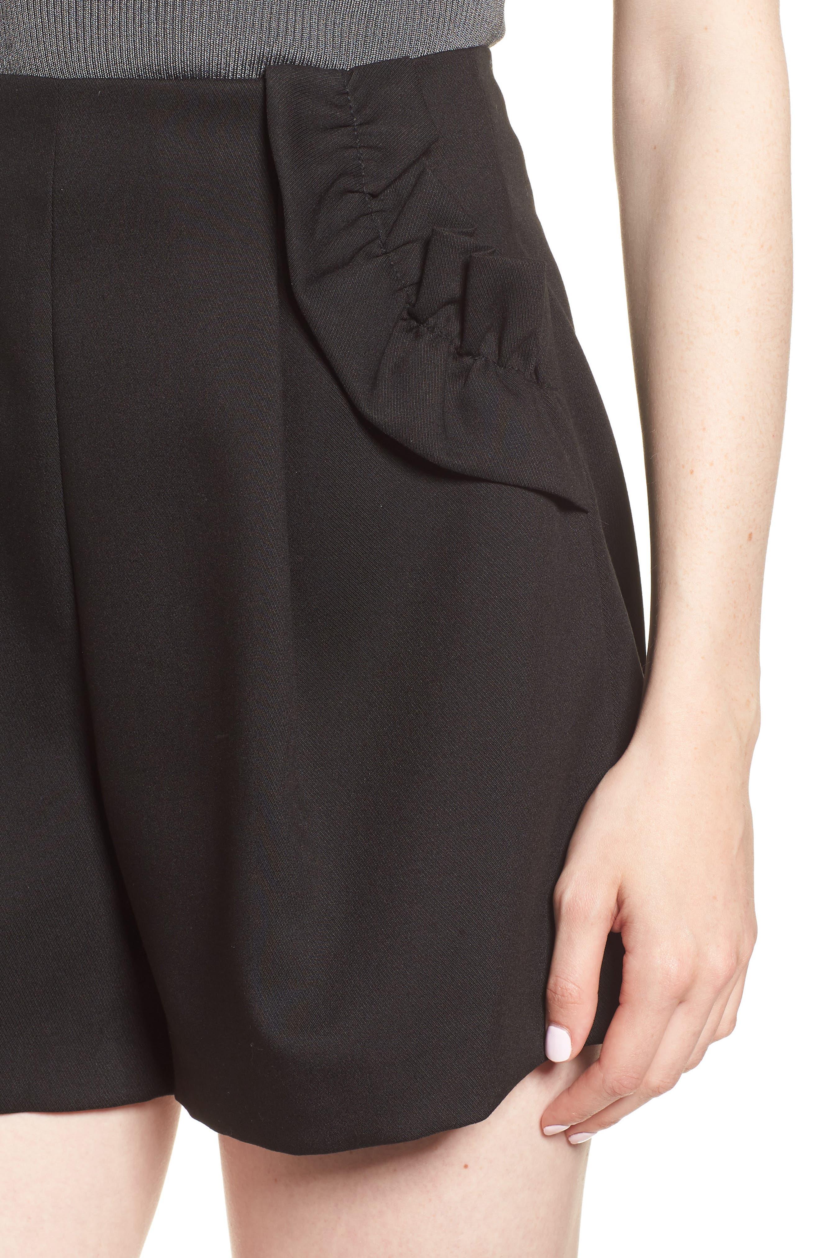 Harmony Shorts,                             Alternate thumbnail 4, color,                             Black