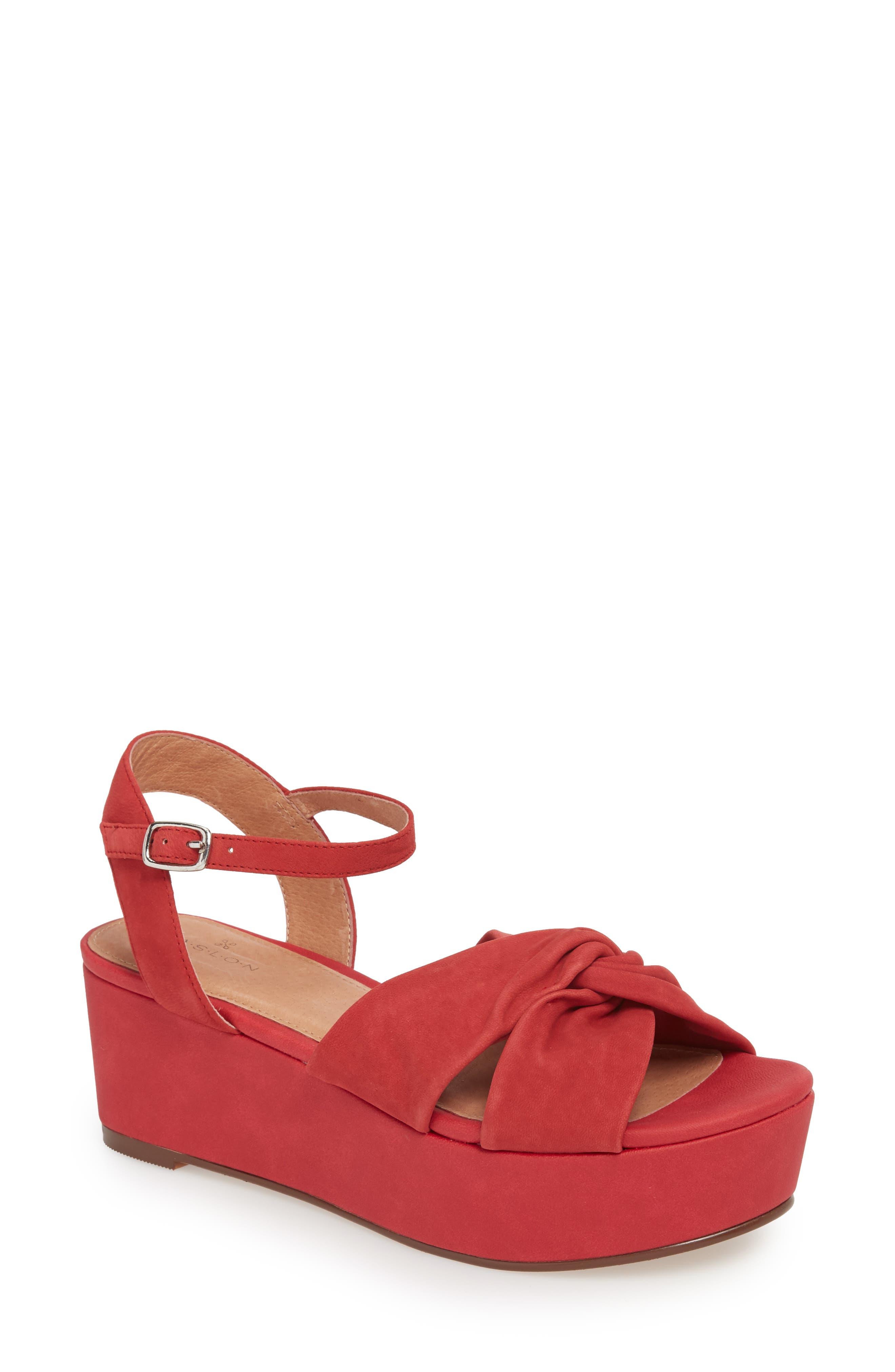 Caslon® Ryder Platform Sandal (Women)