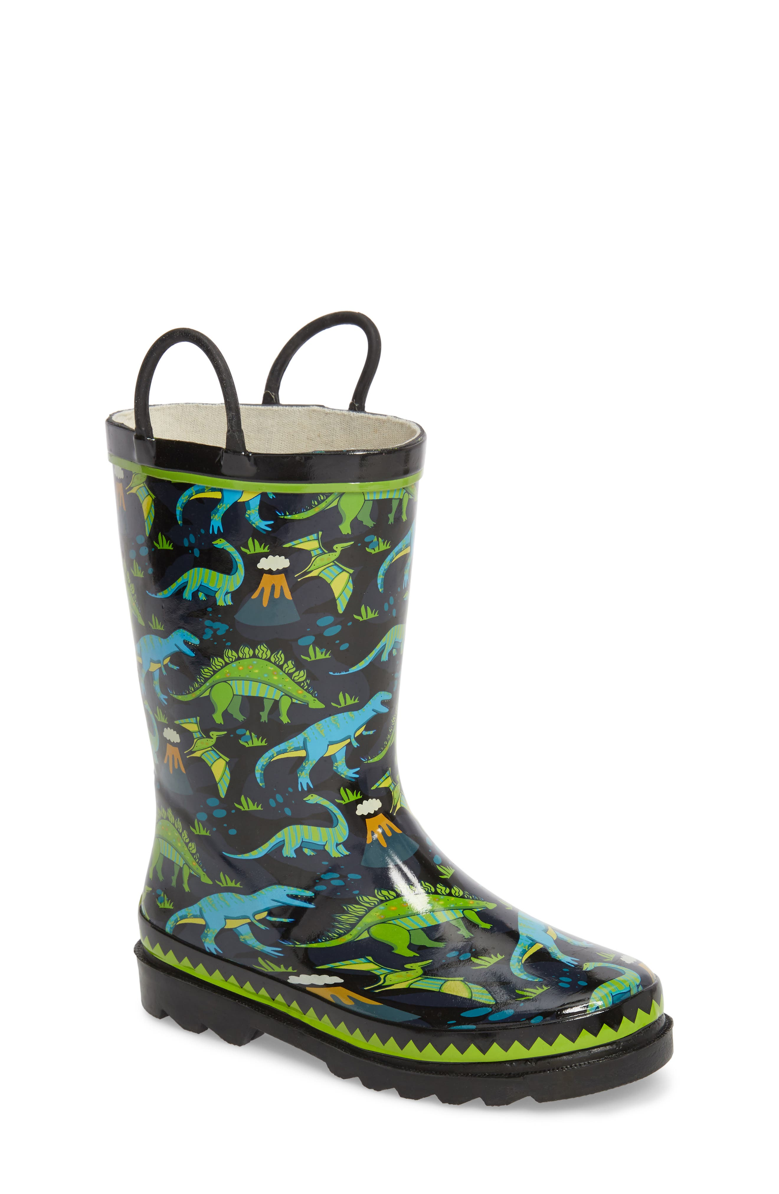 Western Chief Dino Motion Print Rain Boots (Toddler & Little Kid)