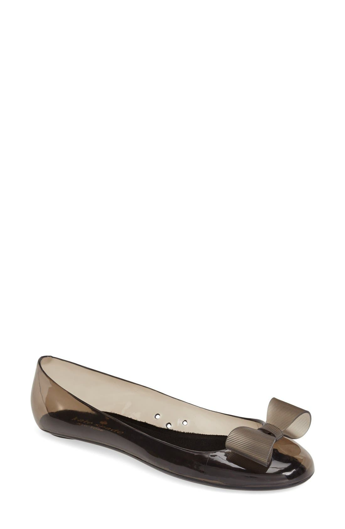 Main Image - kate spade new york 'jove' jelly skimmer flat