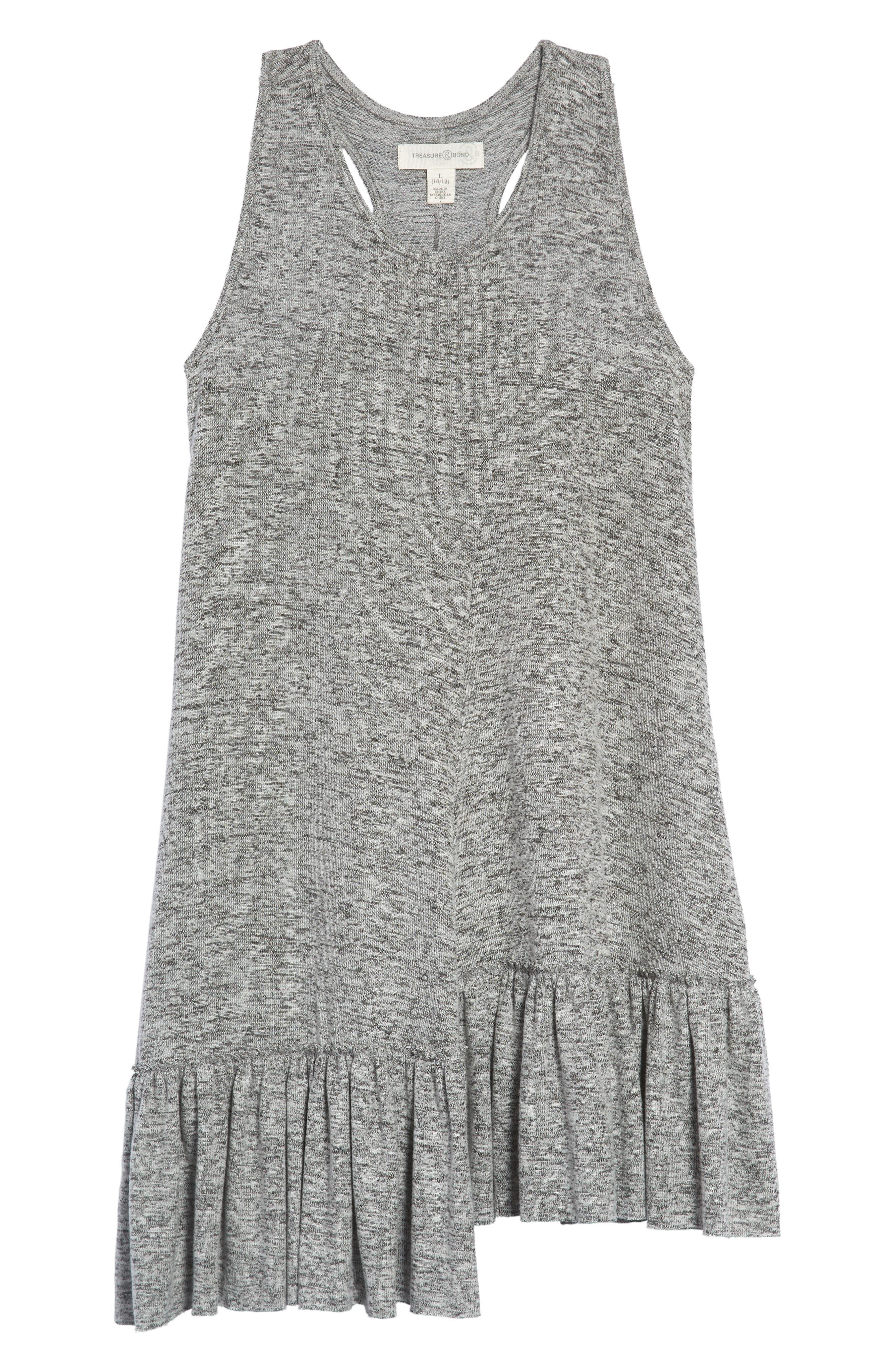 Treasure & Bond Racerback Knit Dress (Big Girls)