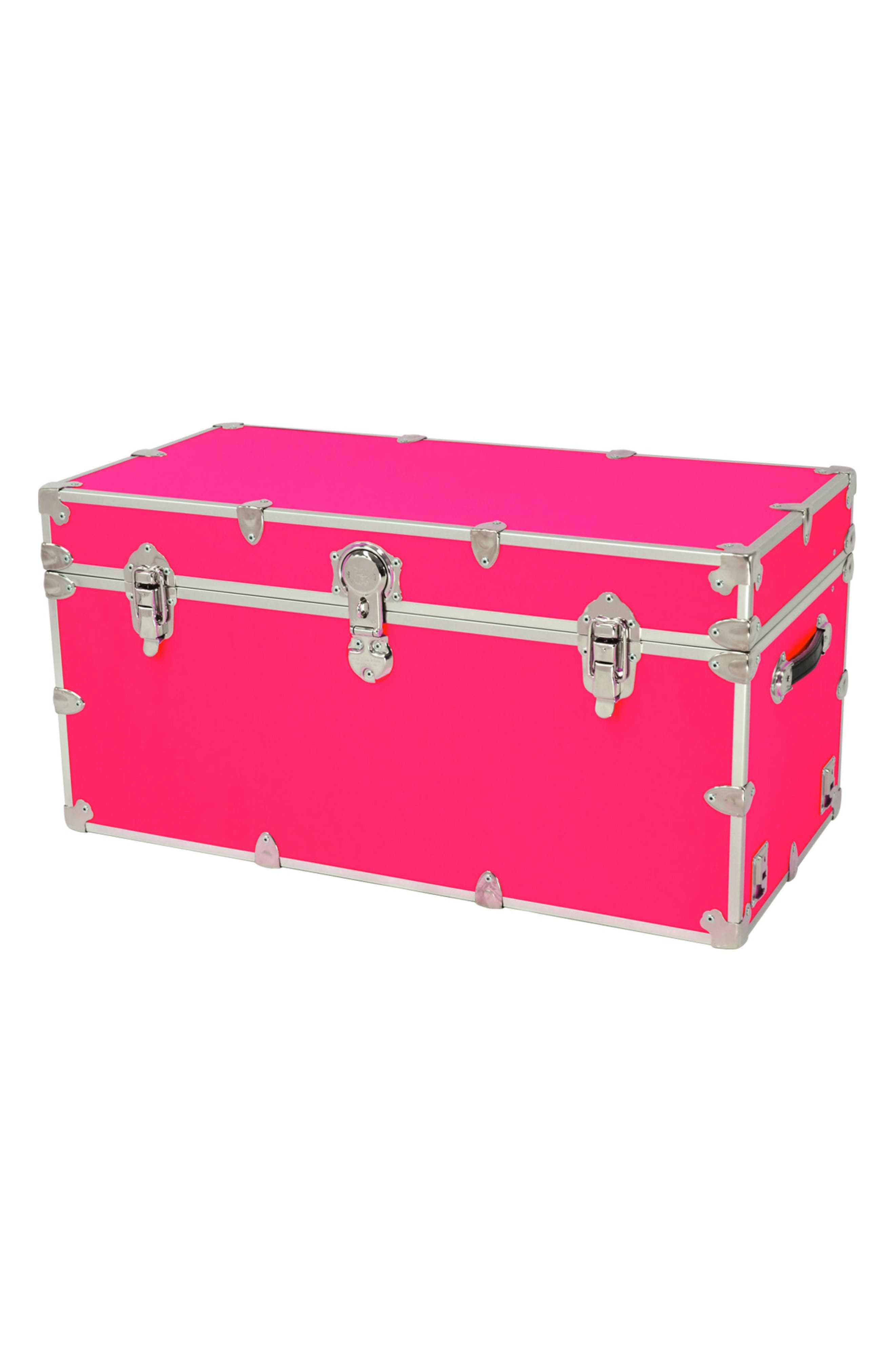 Rhino Trunk & Case XXL Armor Trunk,                         Main,                         color, Neon Pink