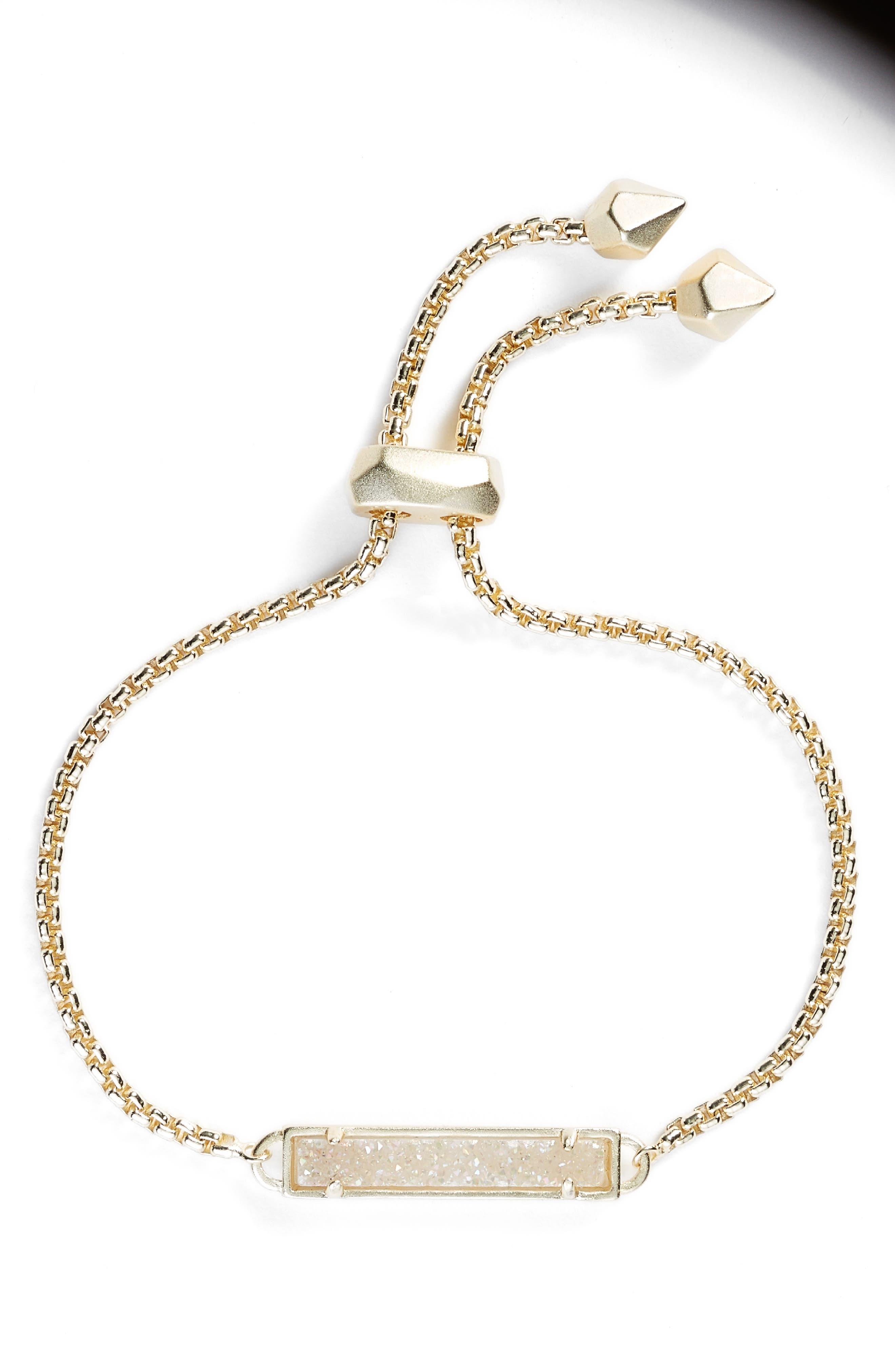 Stan Bracelet,                         Main,                         color, Iridscnt Drusy/ Gold
