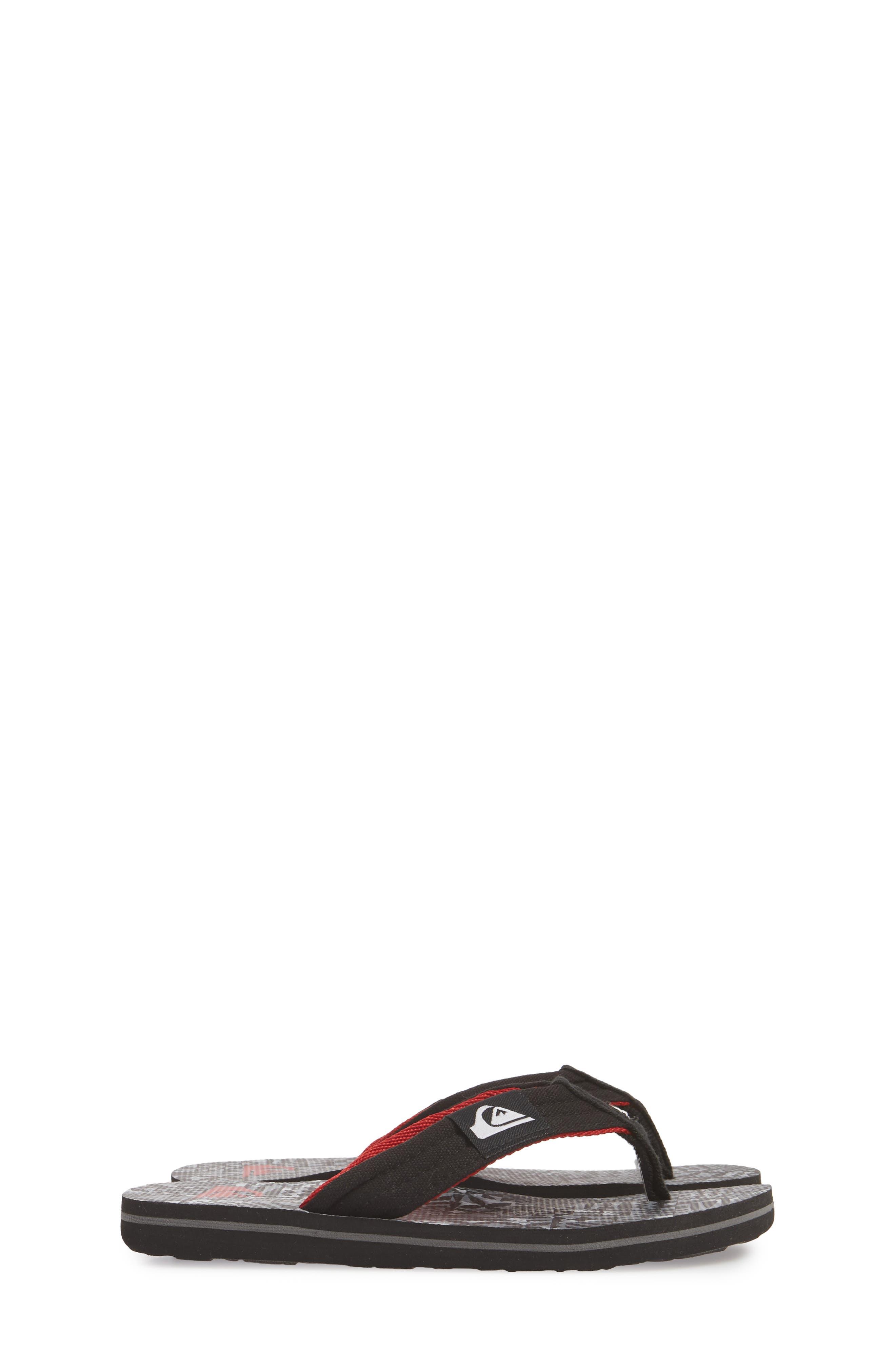 Alternate Image 4  - Quiksilver Molokai Layback Flip Flop (Toddler, Little Kid & Big Kid)