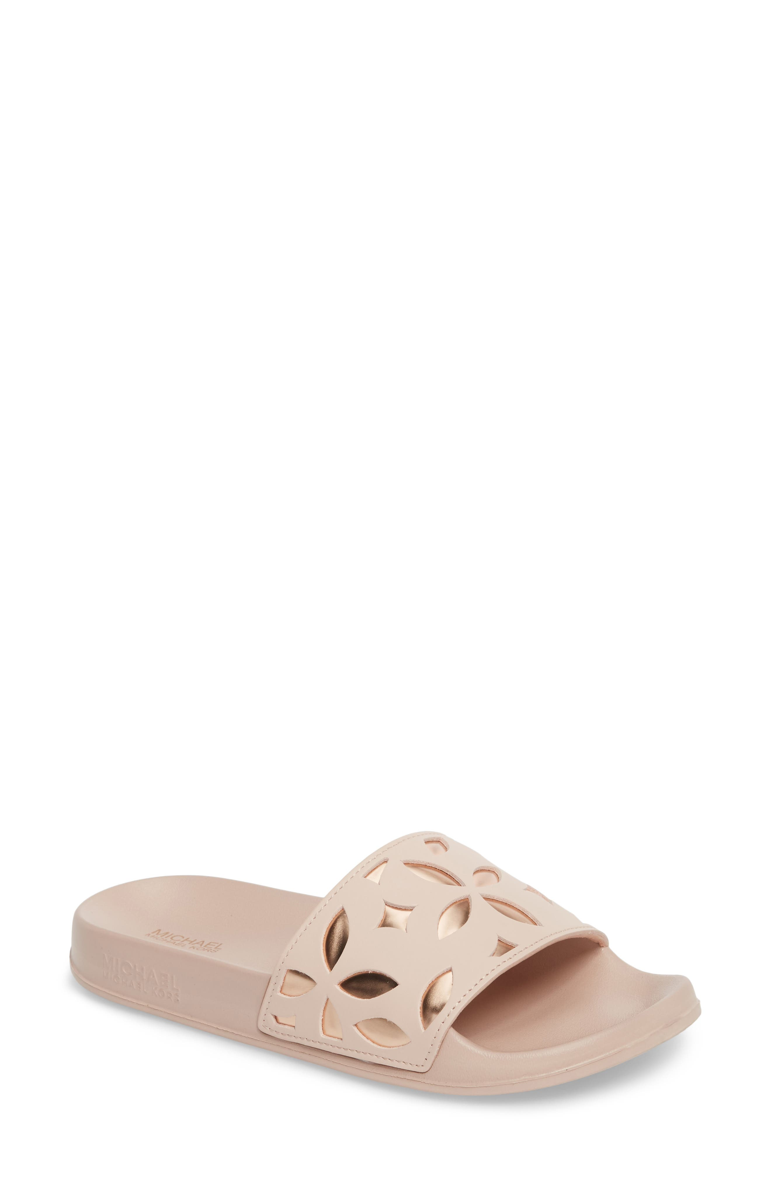 MICHAEL Michael Kors Mimi Slide Sandal (Women)