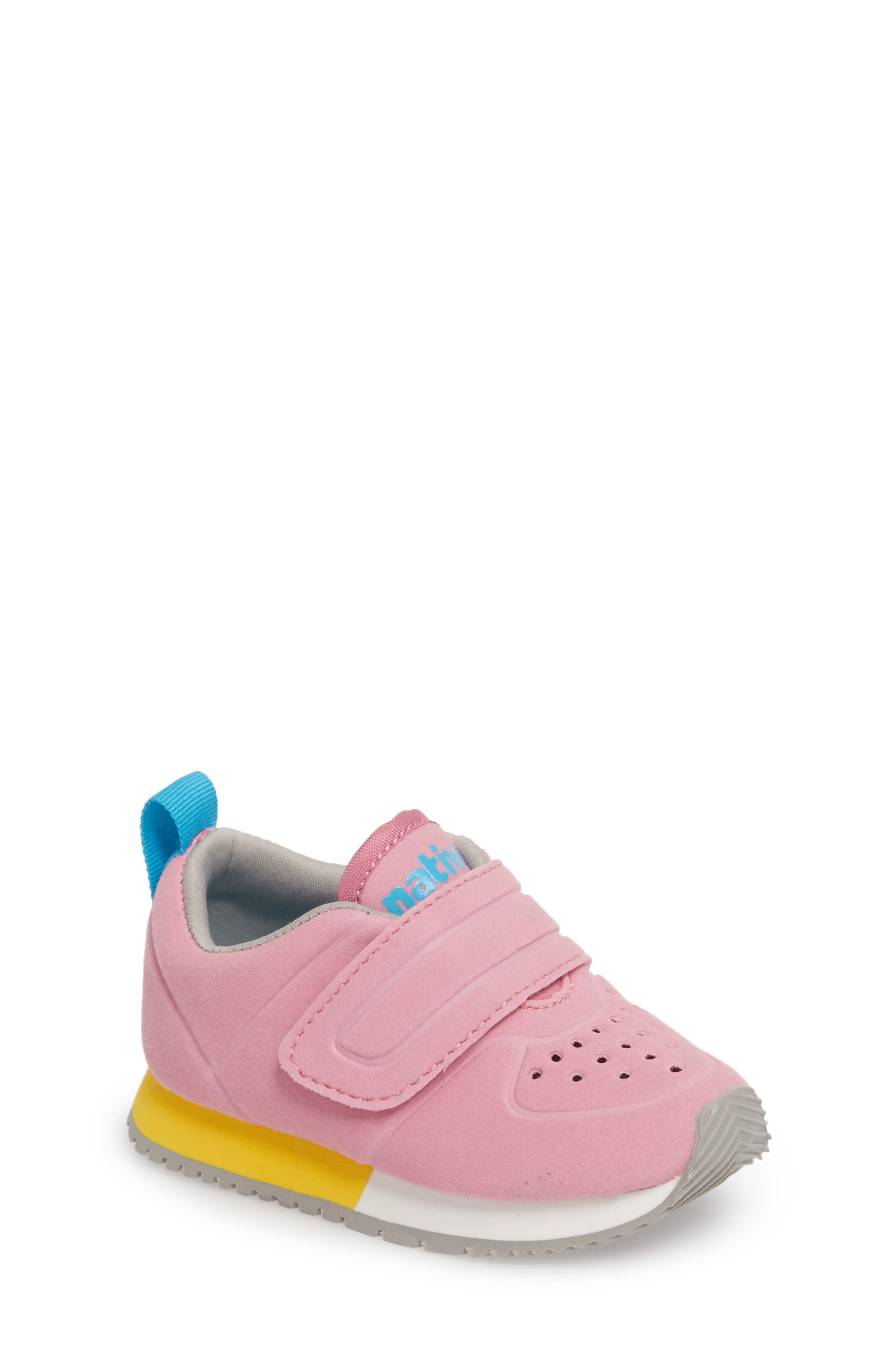 Native Cornell Perforated Sneaker,                             Main thumbnail 1, color,                             Malibu Pink/ White/ Blue
