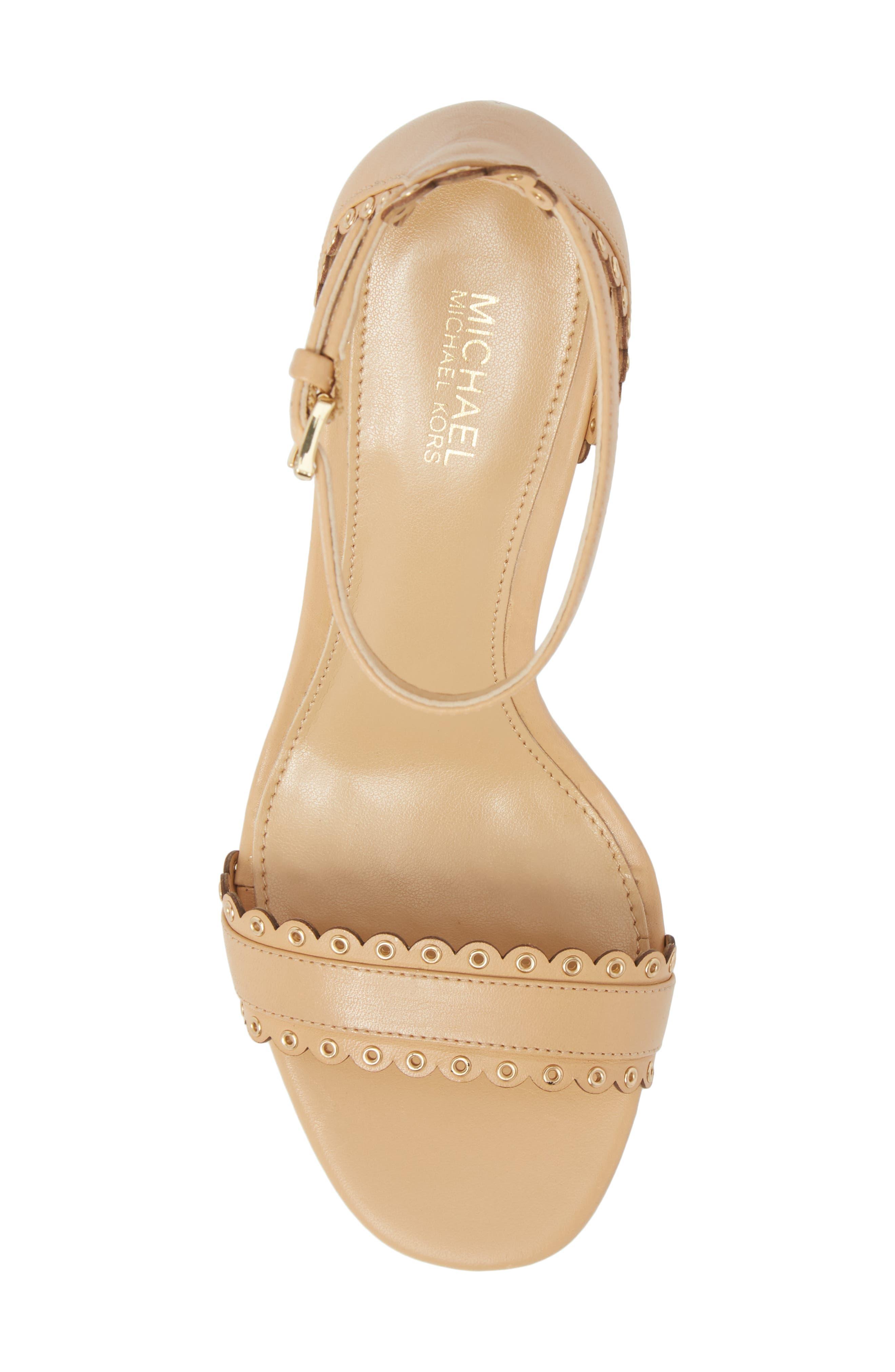Jessie Sandal,                             Alternate thumbnail 5, color,                             Butternut Leather