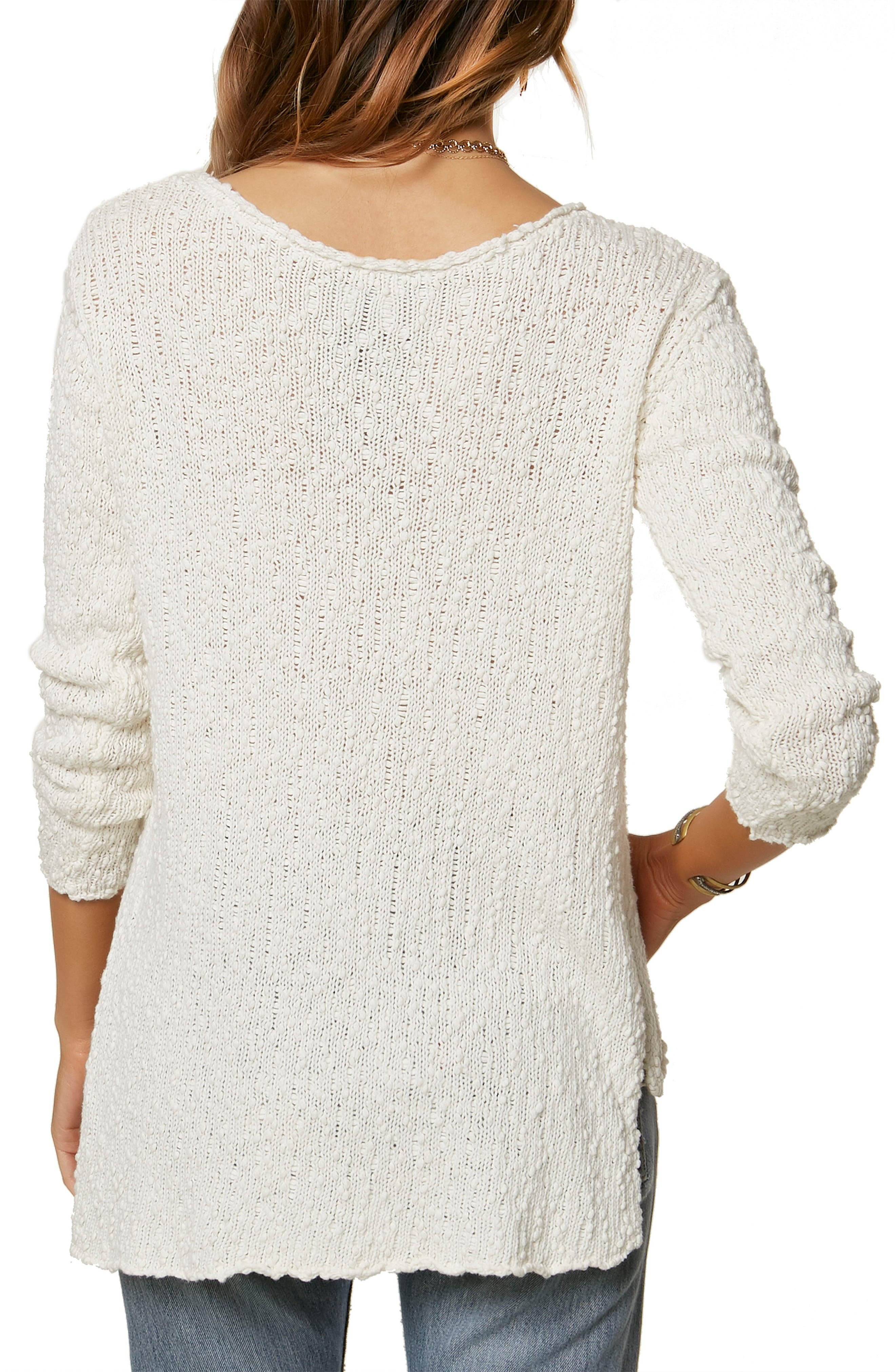 Rocha Pullover Sweater,                             Alternate thumbnail 2, color,                             Naked