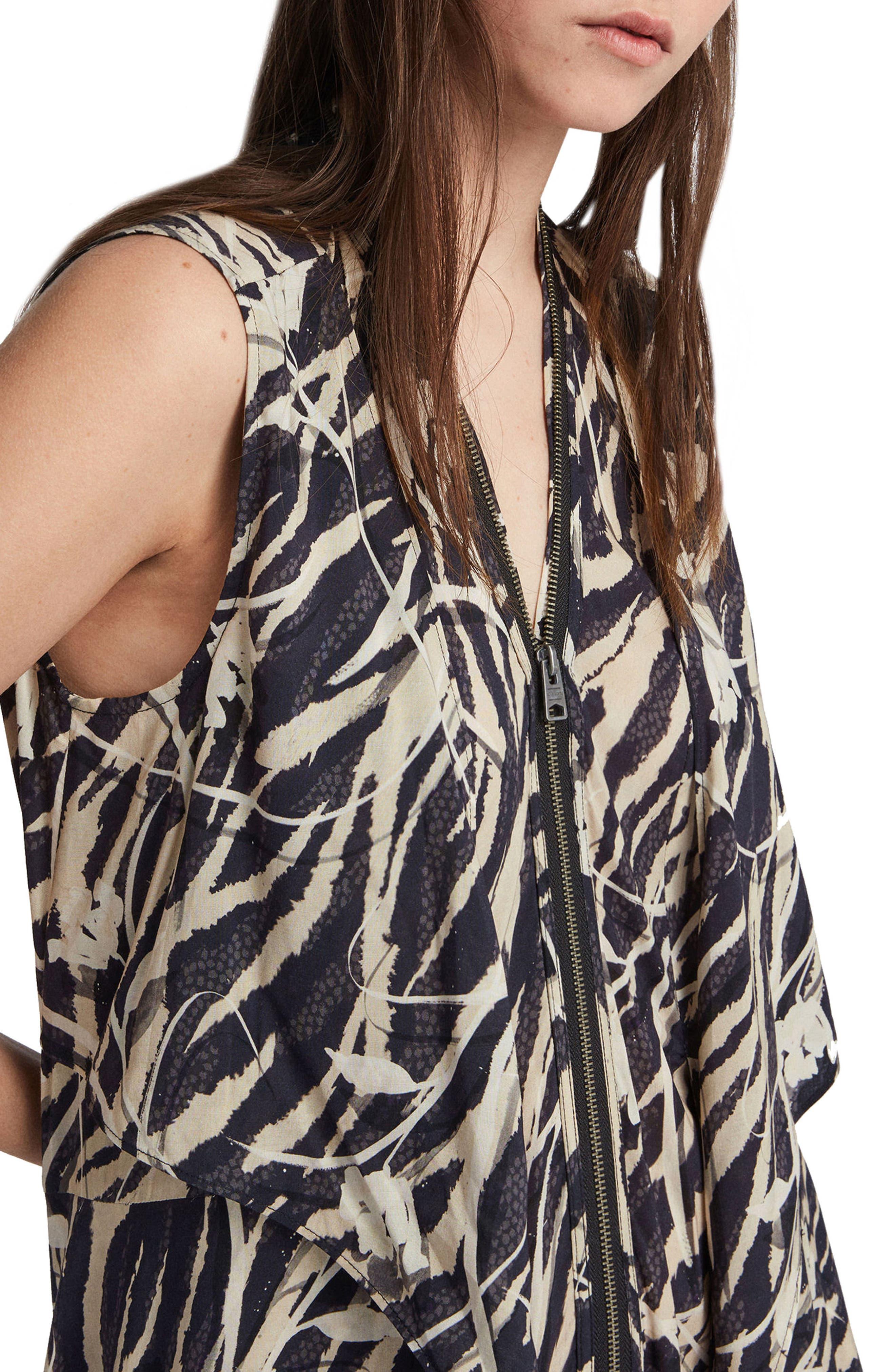 Jayda Katoi Dress,                             Alternate thumbnail 4, color,                             Coal Black