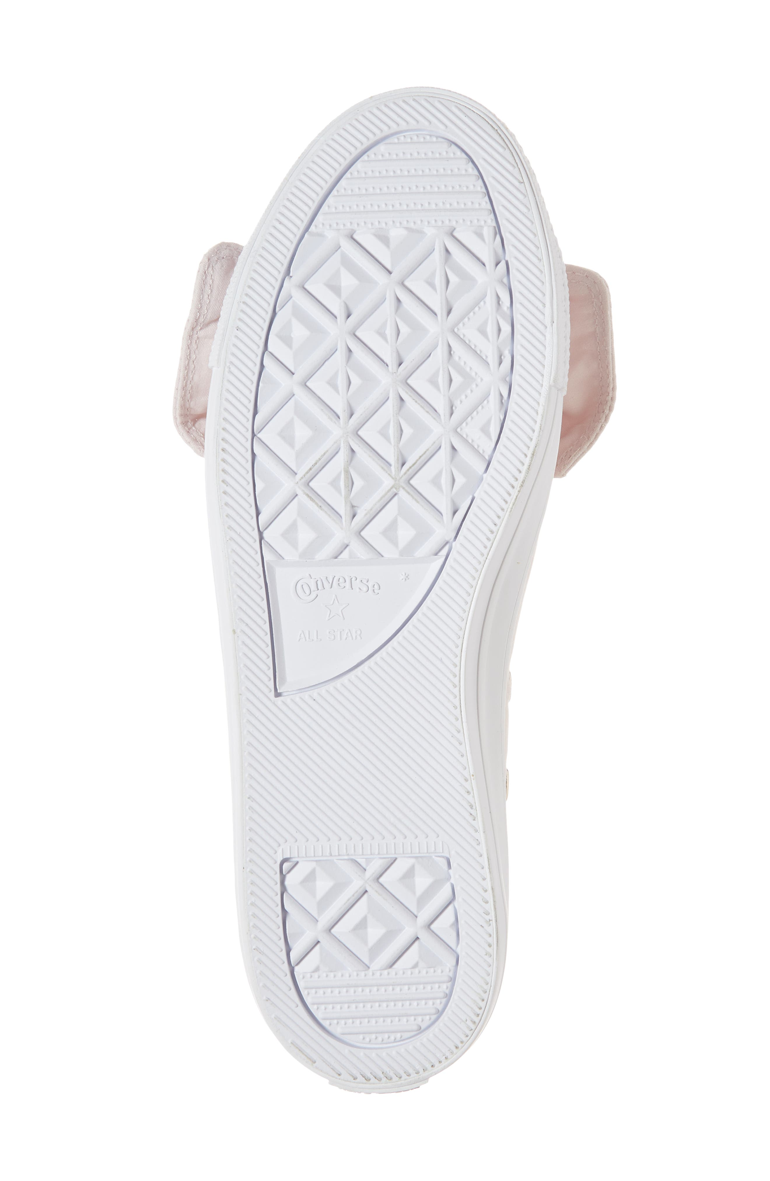 Chuck Taylor <sup>®</sup> All Star<sup>®</sup> Knot Slip-On Sneaker,                             Alternate thumbnail 6, color,                             Barely Rose