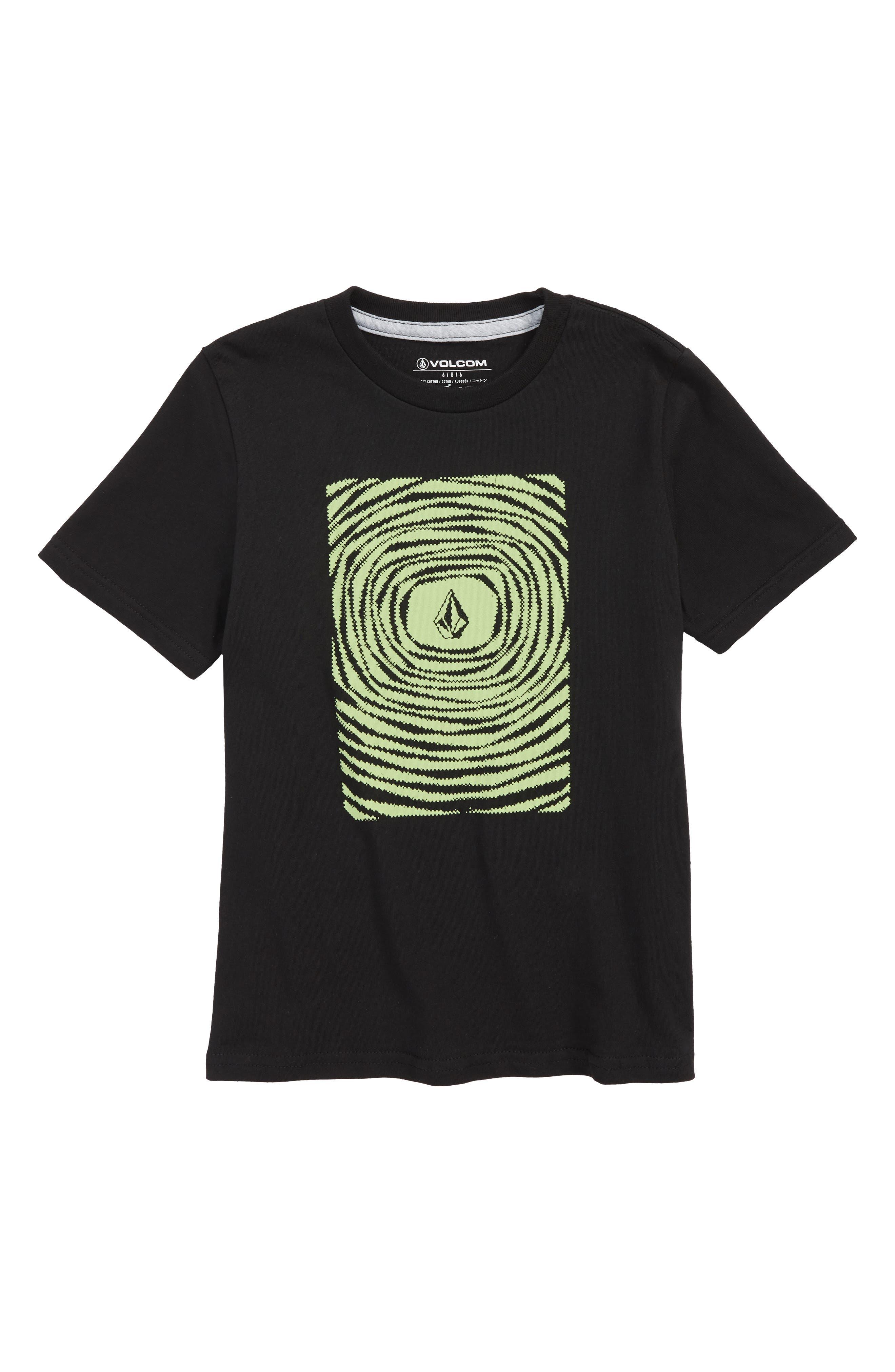 Engulf Graphic T-Shirt,                         Main,                         color, Black