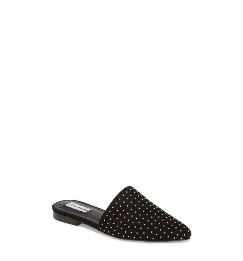 Trace Studded Mule,                         Main,                         color, Black With Stud