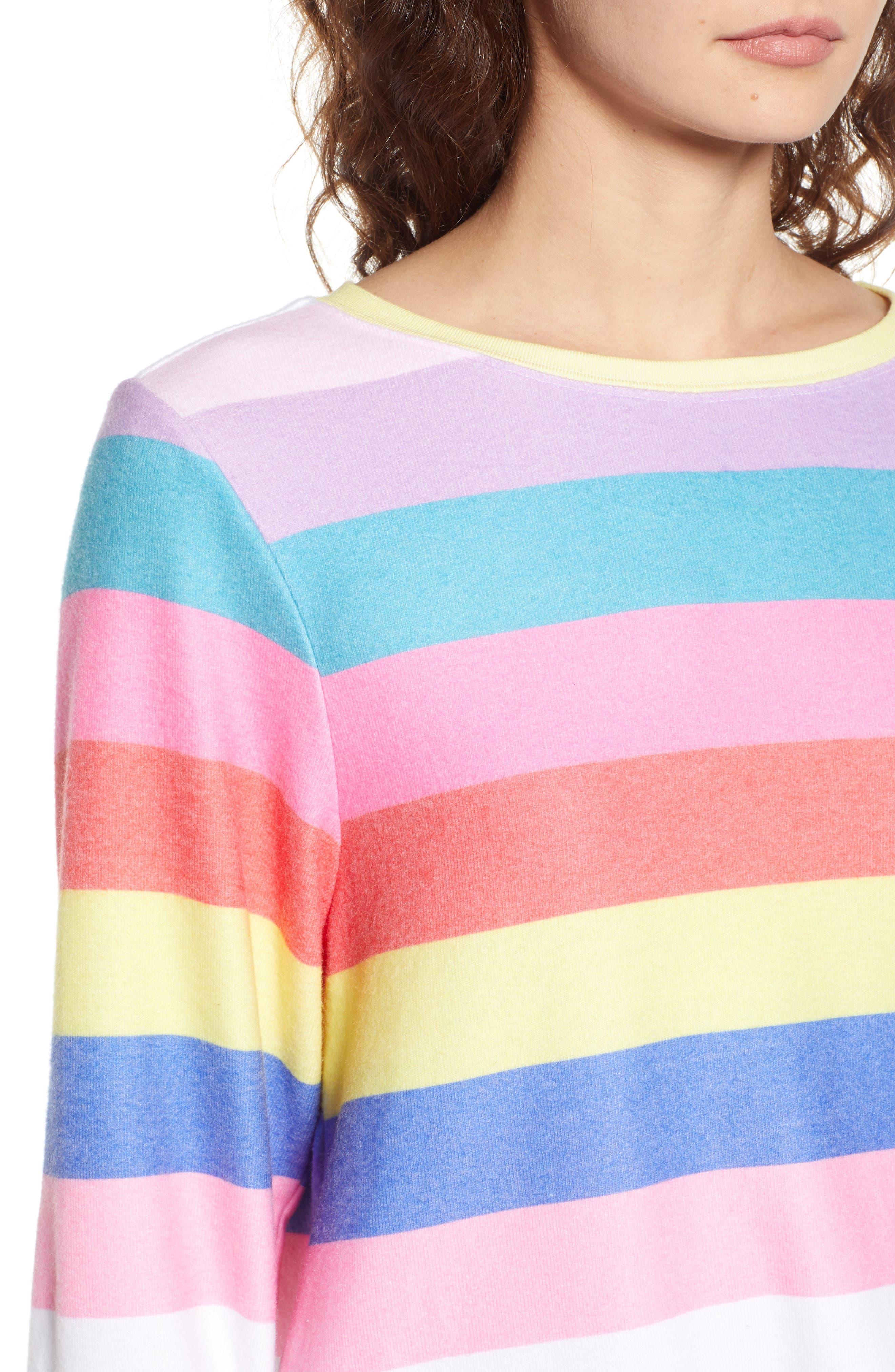 Castaway Roadtrip Sweatshirt,                             Alternate thumbnail 4, color,                             Multi Colored