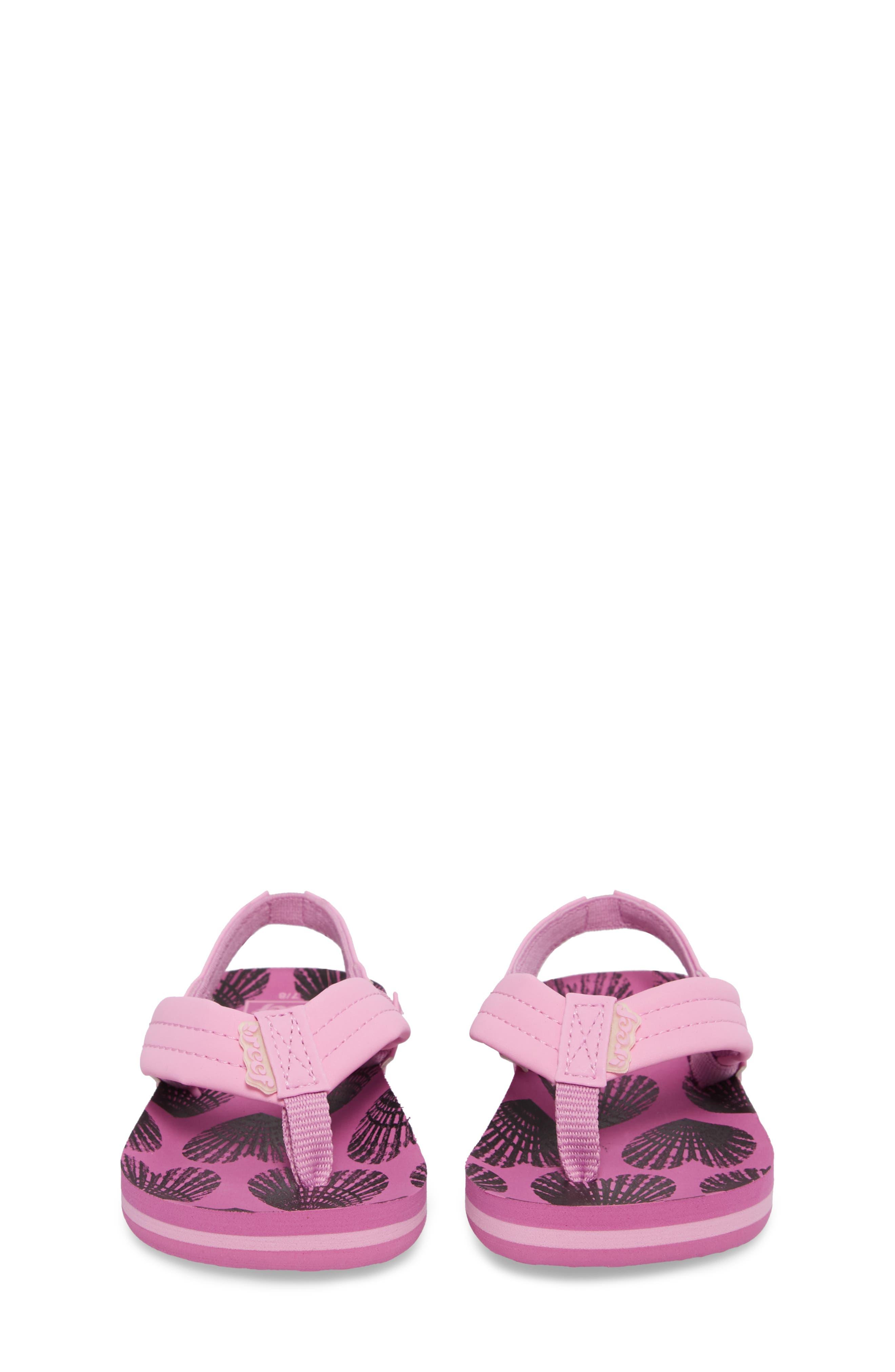 Little Ahi Sandal,                             Alternate thumbnail 5, color,                             Purple