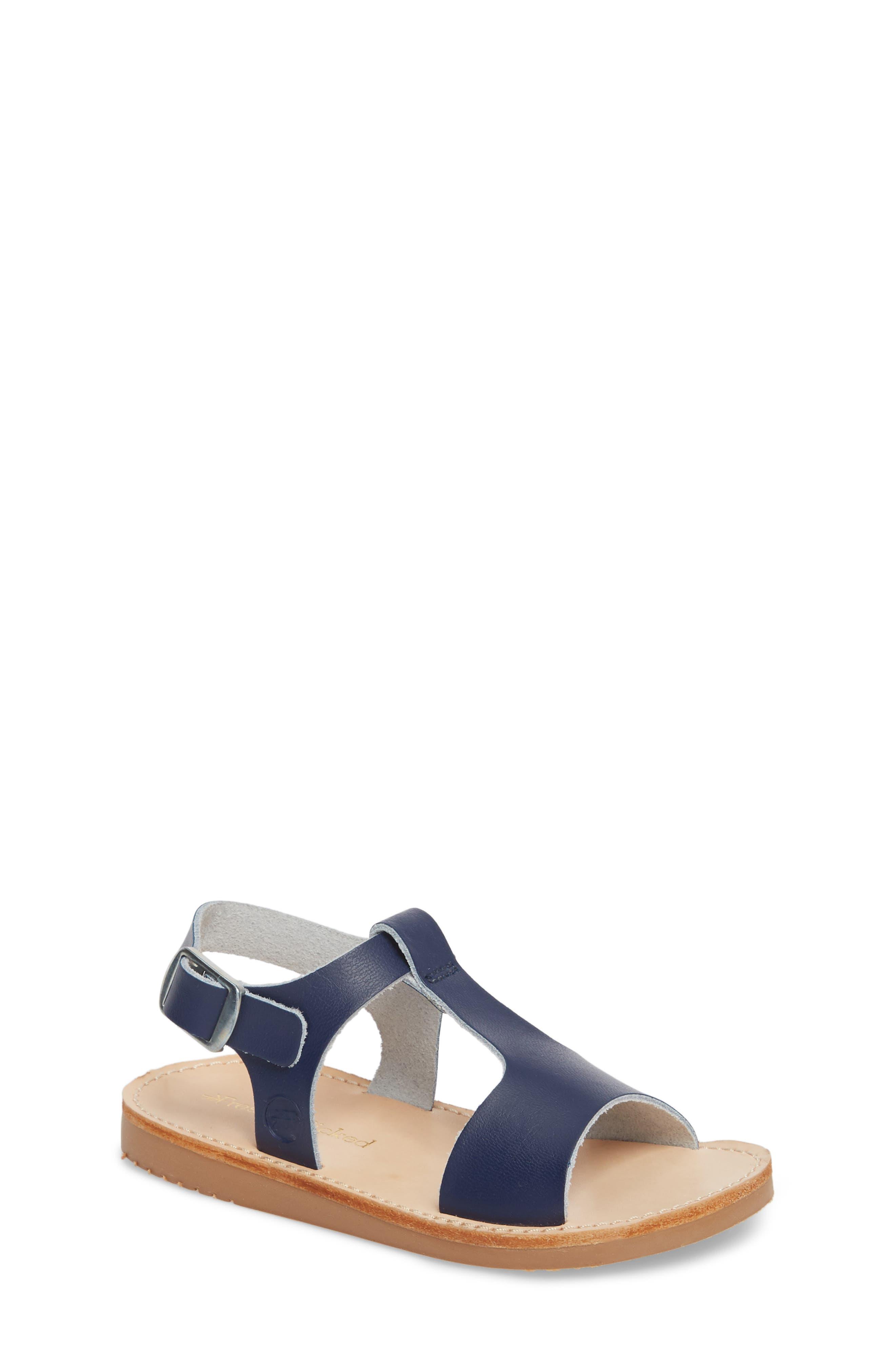 Malibu Water Resistant Sandal,                         Main,                         color, Navy