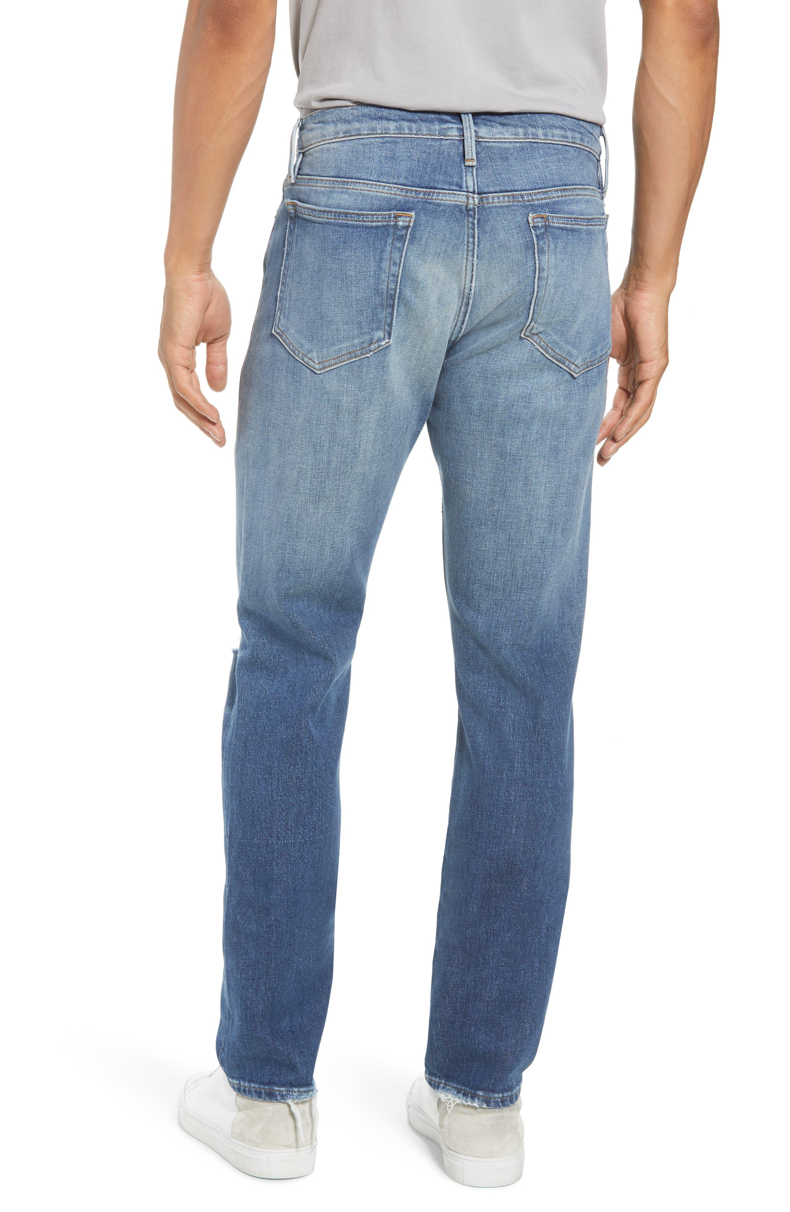 L'Homme Slim Fit Jeans,                             Alternate thumbnail 2, color,                             Yucca