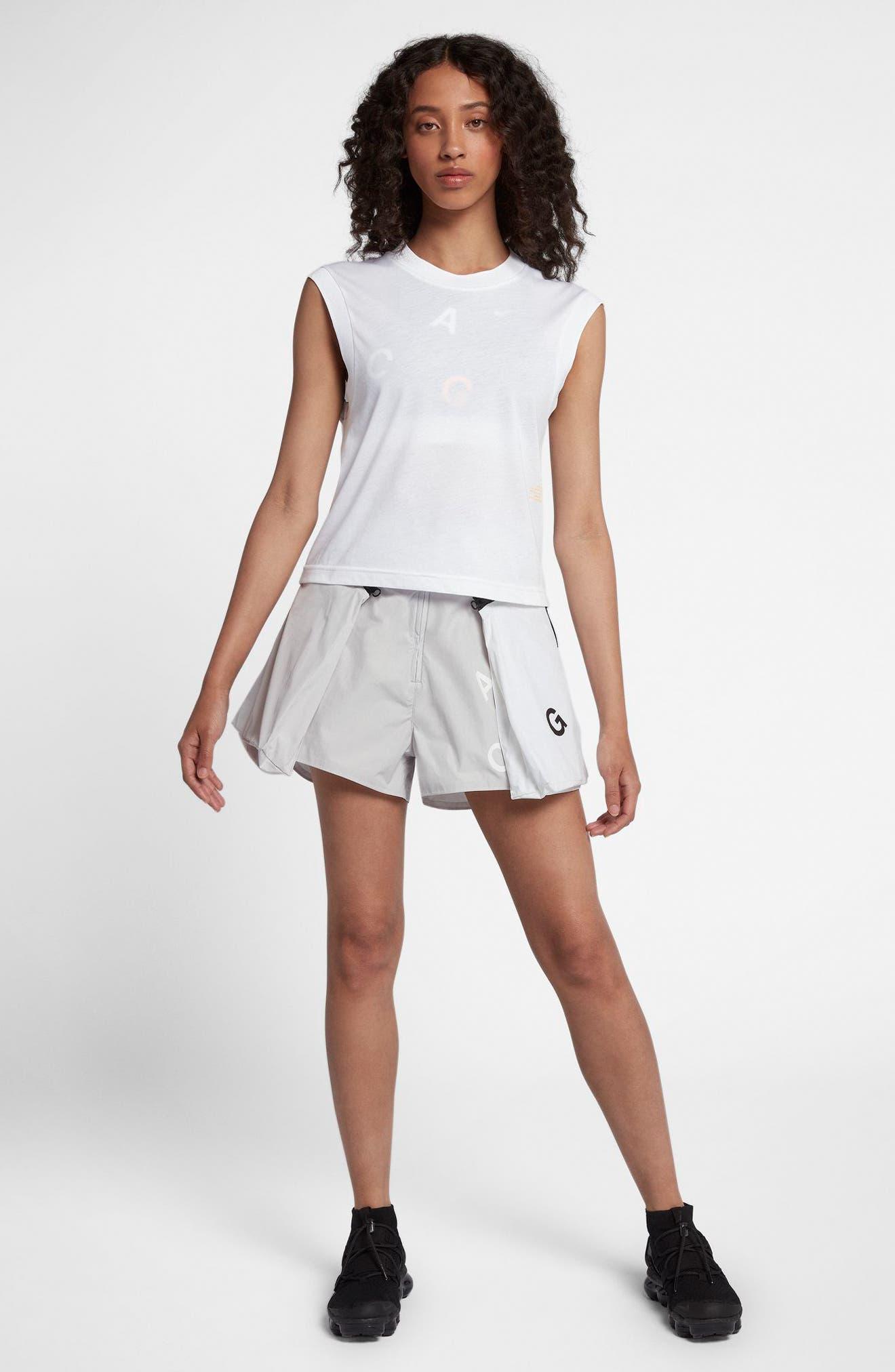 NikeLab ACG Women's Sleeveless Top,                             Alternate thumbnail 7, color,                             White