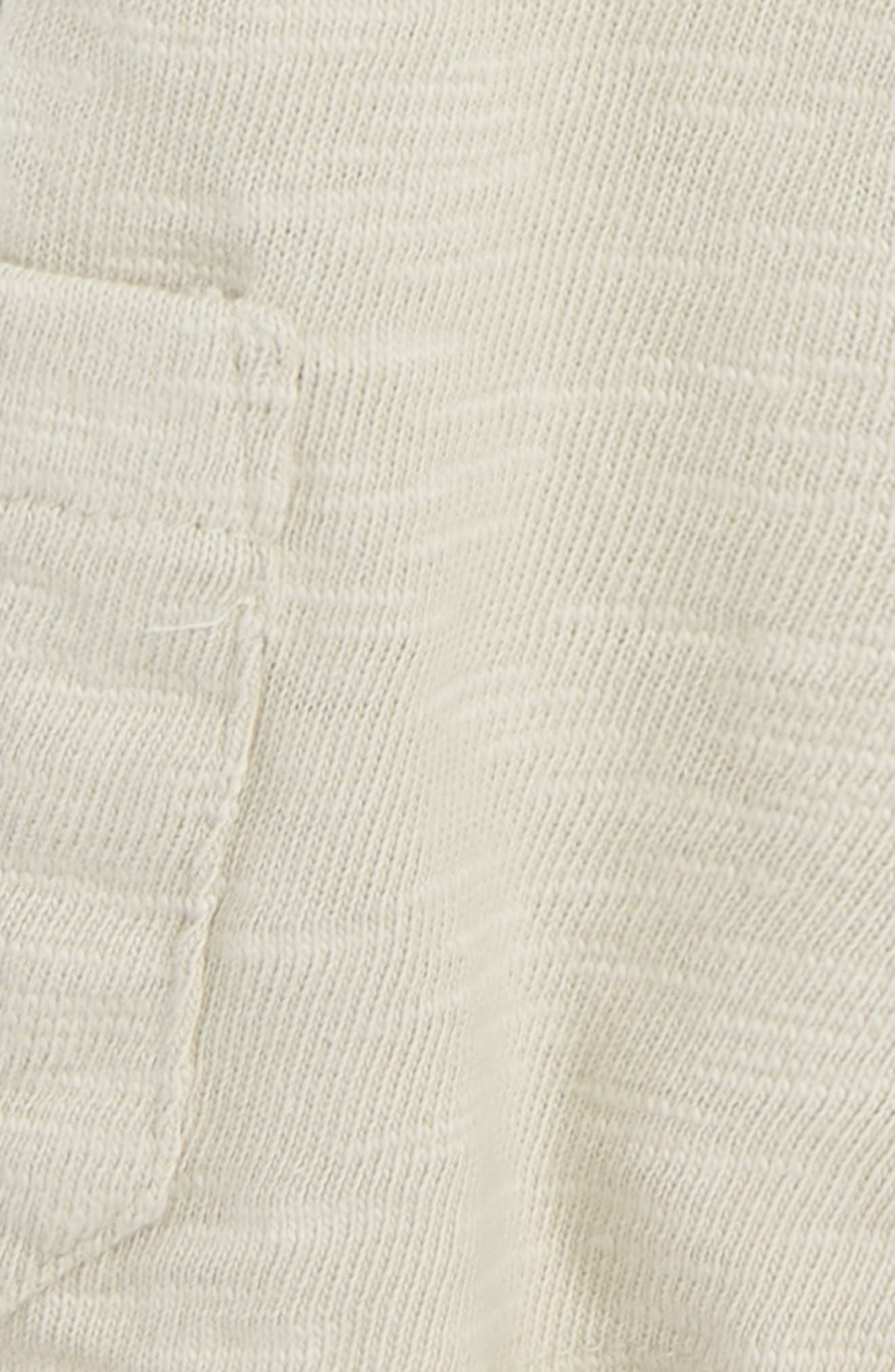 Asher Knit Cargo Shorts,                             Alternate thumbnail 2, color,                             Grey