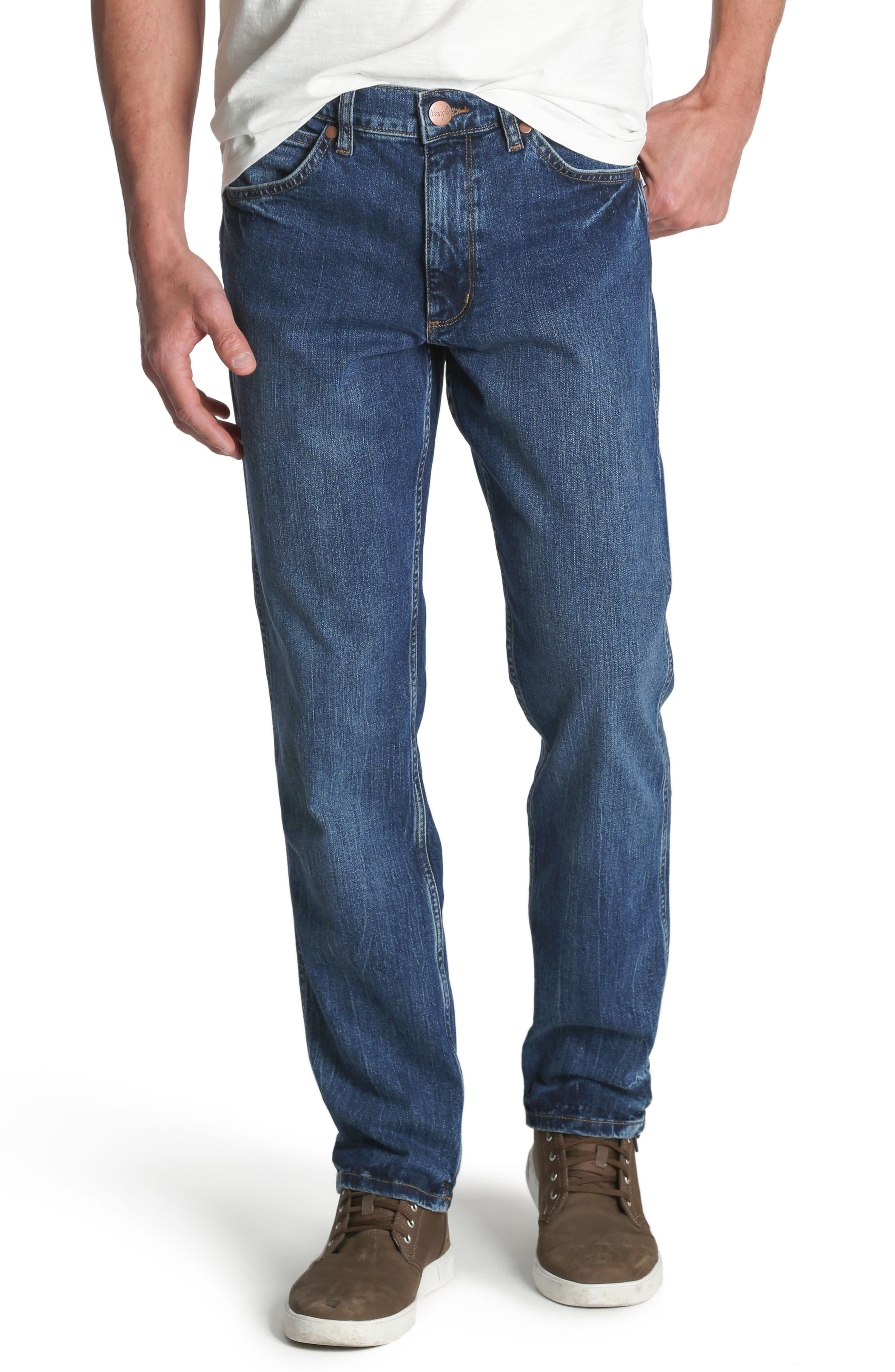 Greensboro Straight Leg Jeans,                         Main,                         color, Good Thing