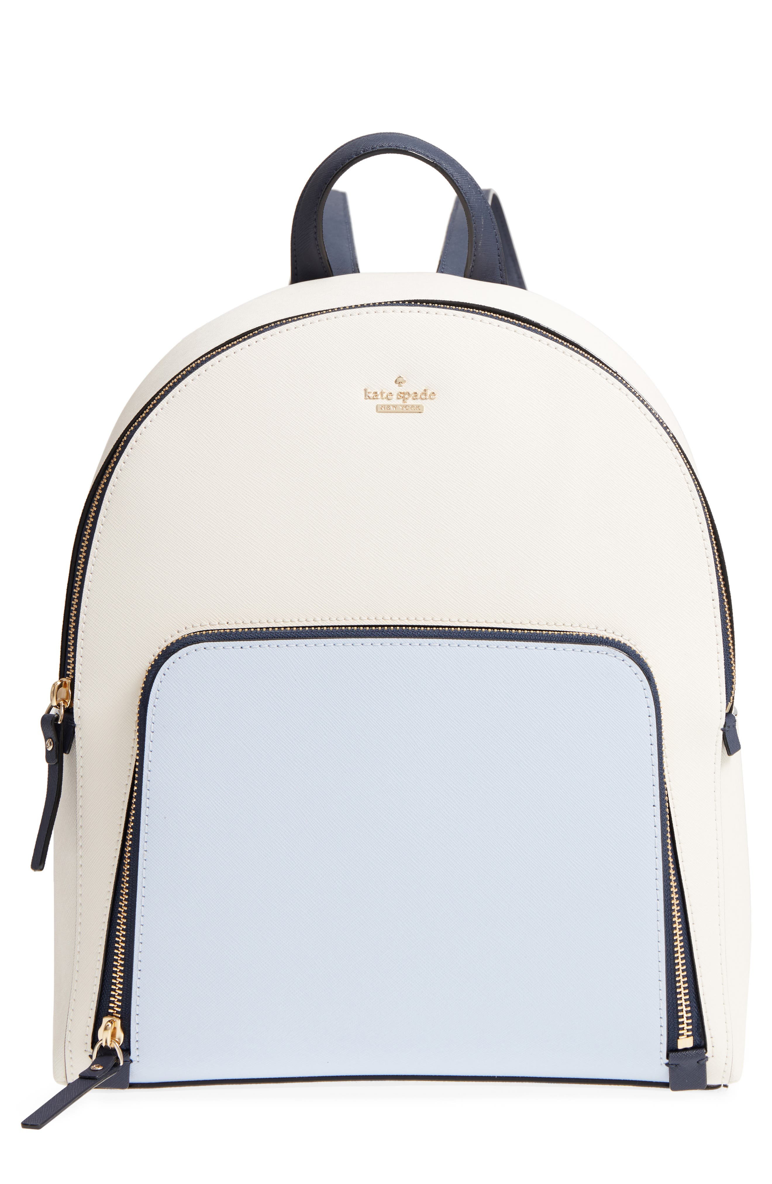 cameron street – hartley leather backpack,                         Main,                         color, Cement/ Morning Multi