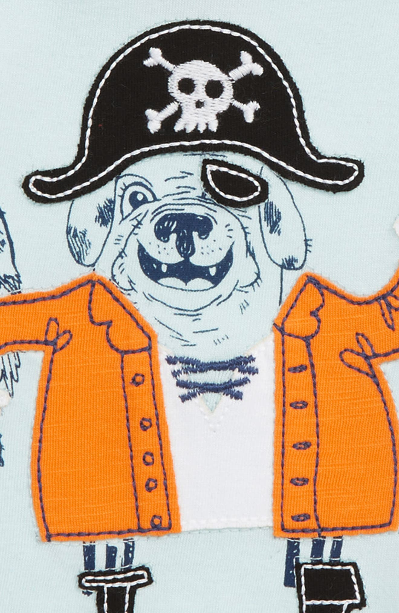 Graphic T-Shirt,                             Alternate thumbnail 2, color,                             Seadog Pirate