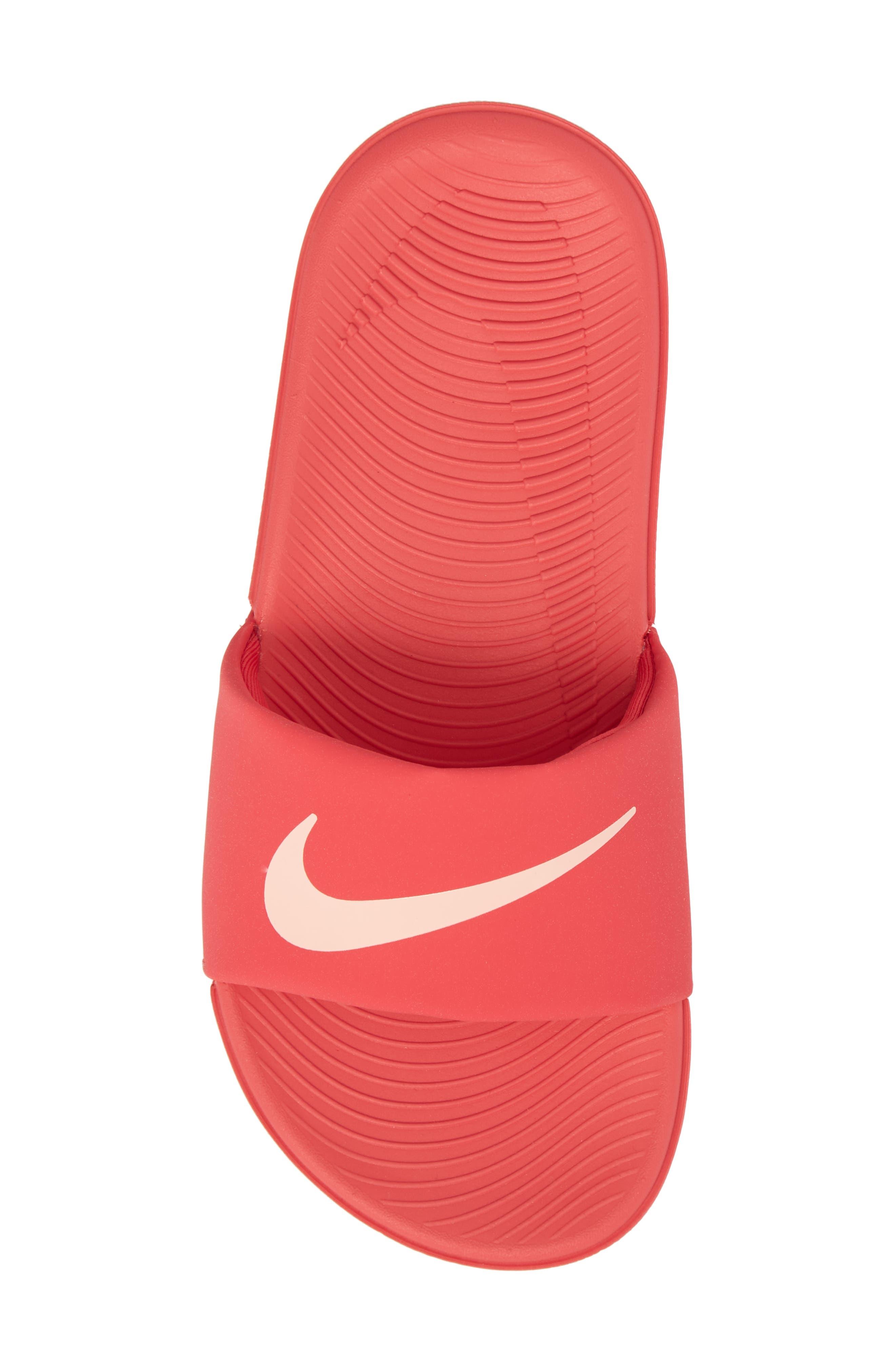 'Kawa' Slide Sandal,                             Alternate thumbnail 5, color,                             Tropical Pink/ Bleached Coral