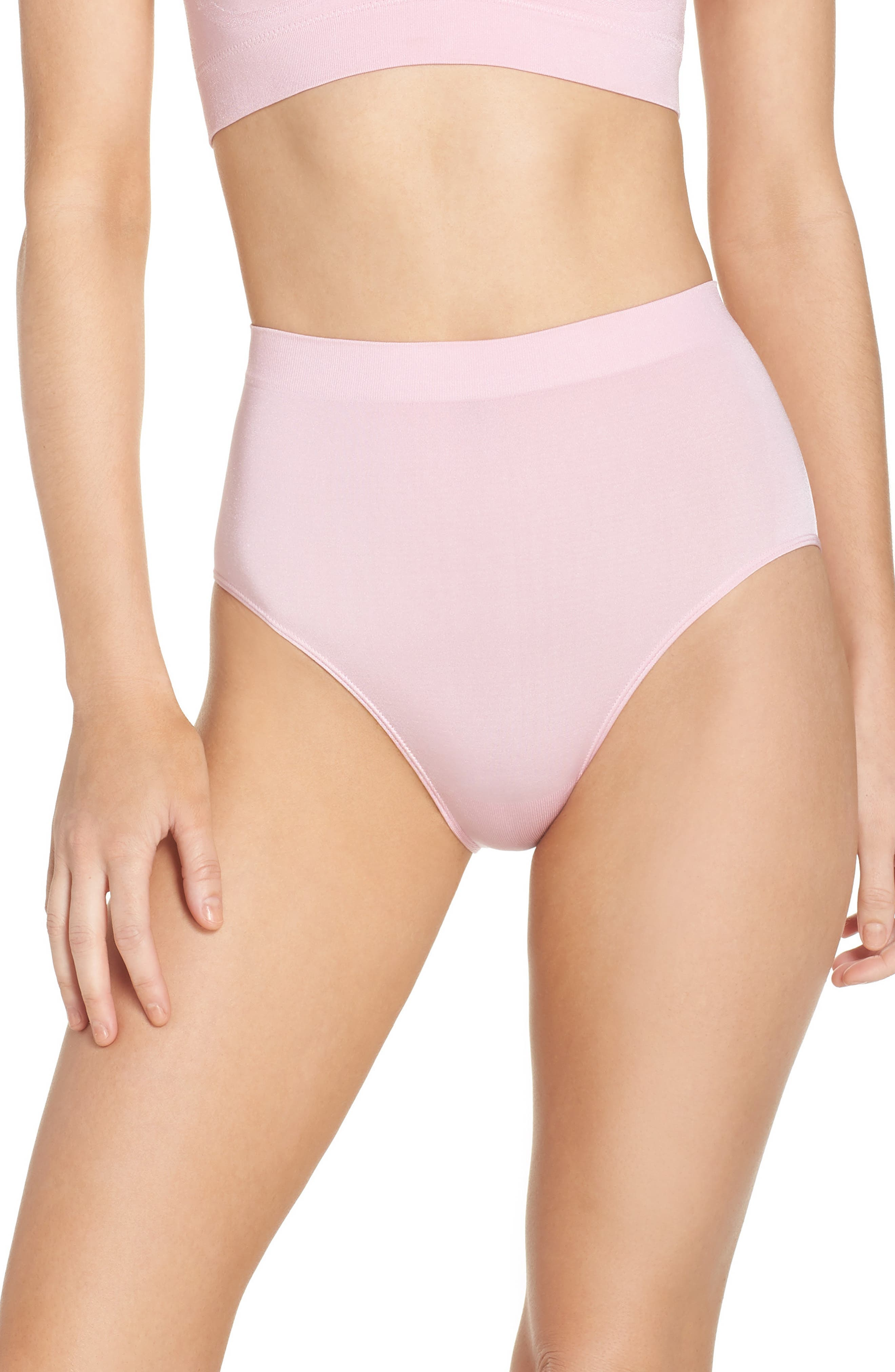 B Smooth Briefs,                         Main,                         color, Cameo Pink