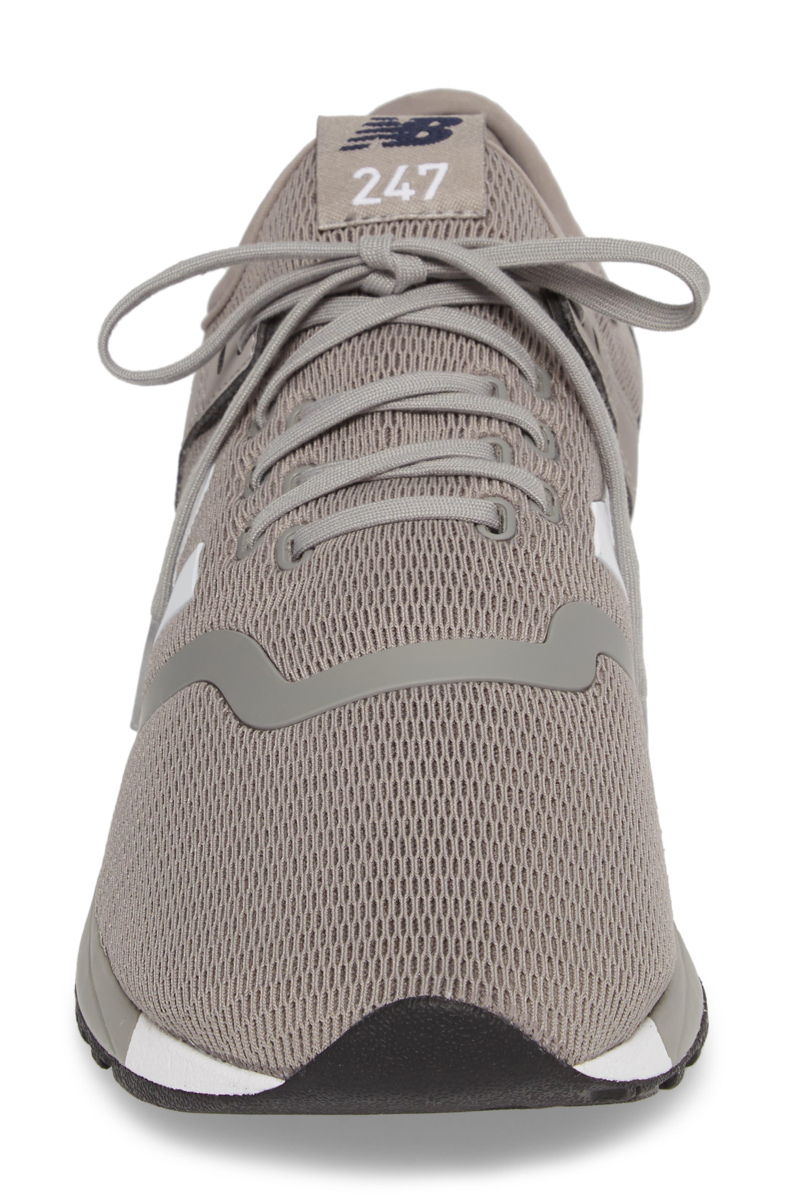247 Sneaker,                             Alternate thumbnail 4, color,                             Steel