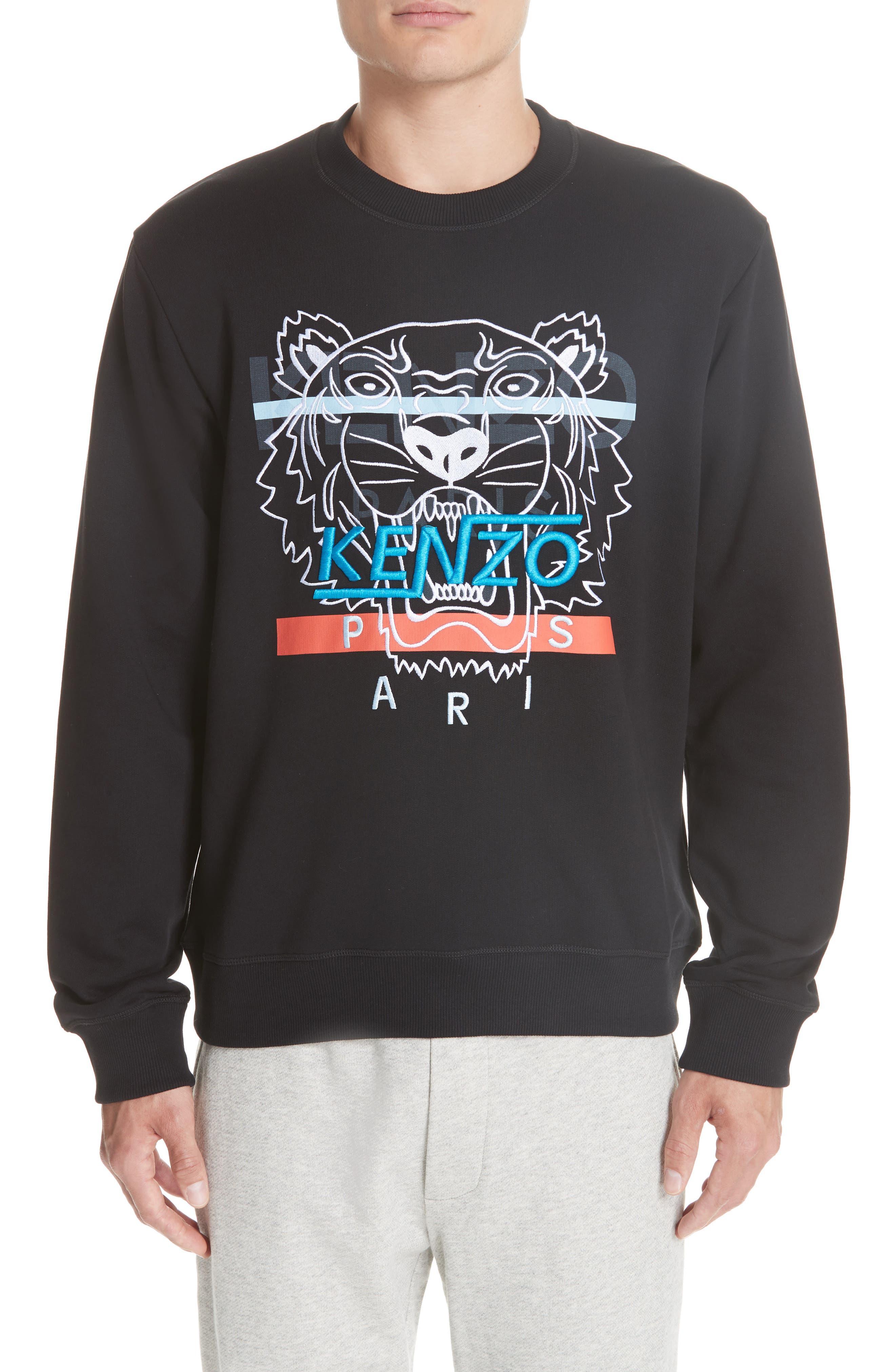 KENZO Hyper Tiger Logo Sweatshirt