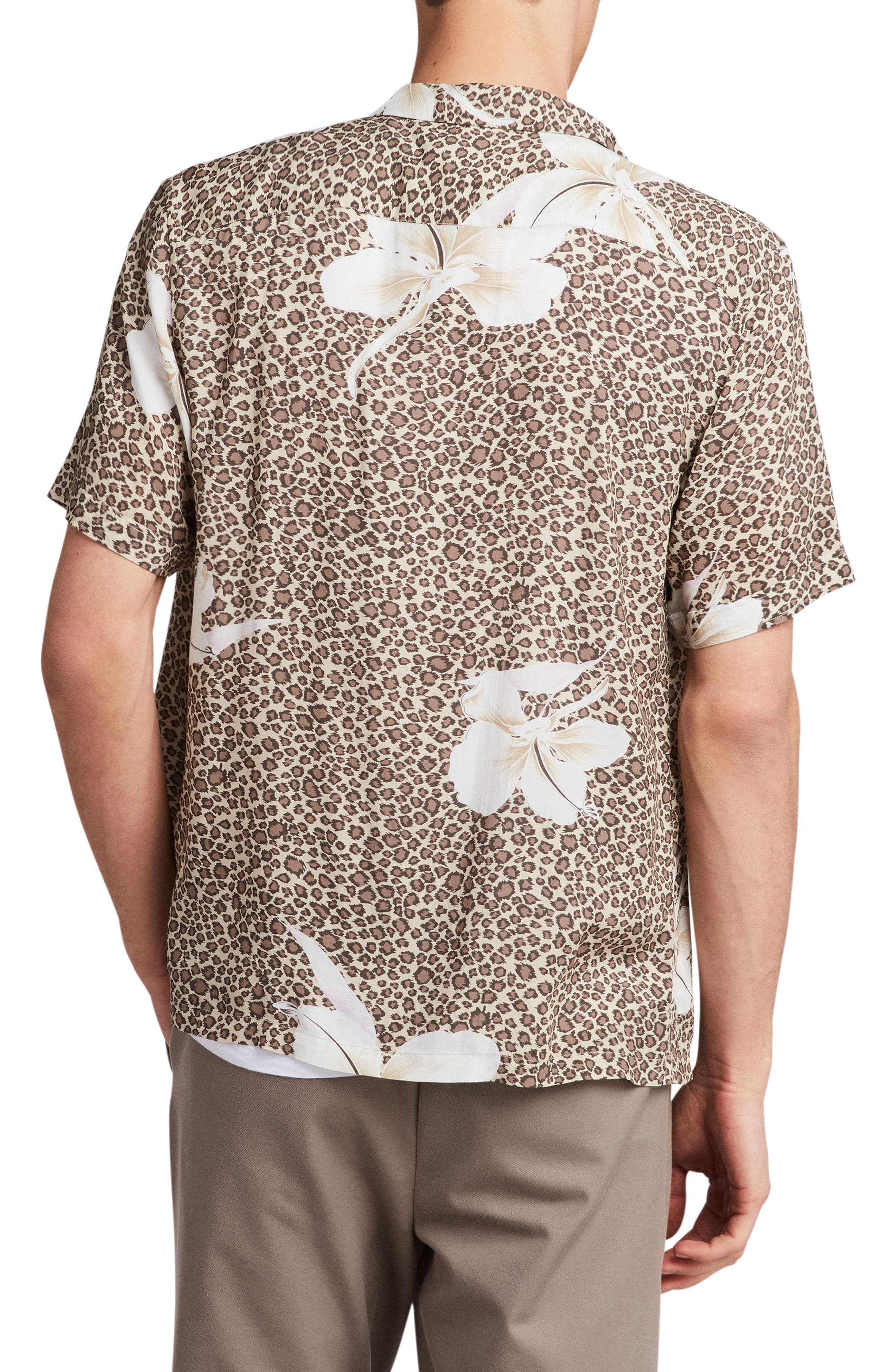 Kuhi Regular Fit Short Sleeve Sport Shirt,                             Alternate thumbnail 2, color,                             Sand